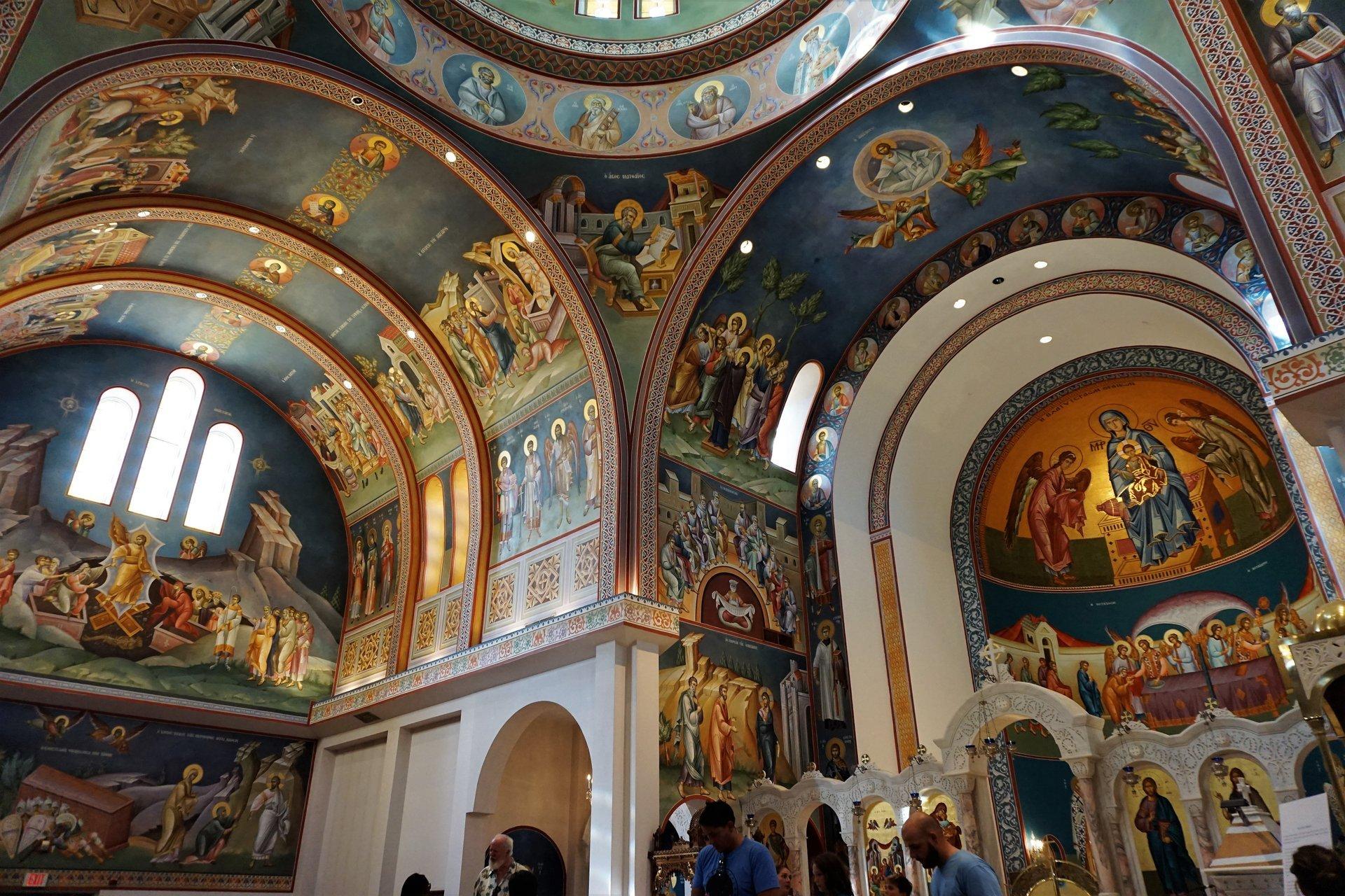 Dallas Greek Orthodox Church 2020