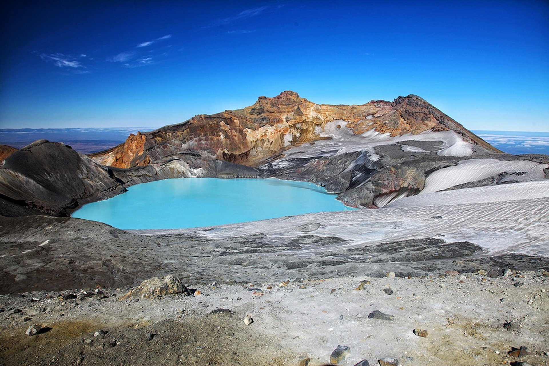 Mount Ruapehu Crater Lake 2020