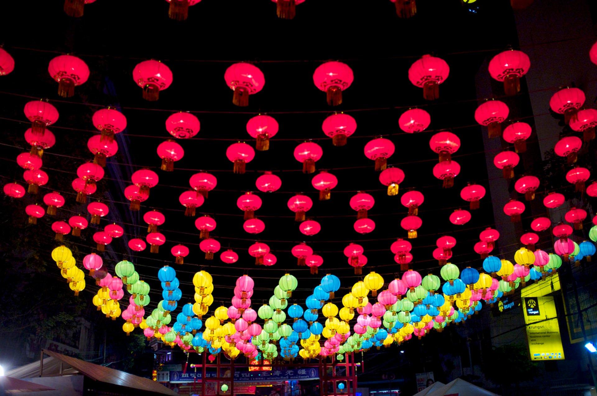 Chinese New Year in China Town, Bangkok, Thailand 2020