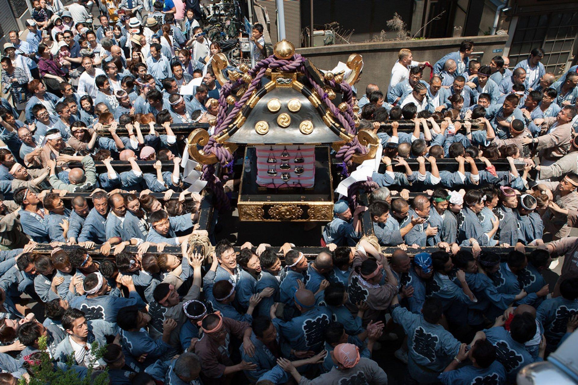 Asakusa Sanja Matsuri Festival in Tokyo 2020 - Best Time