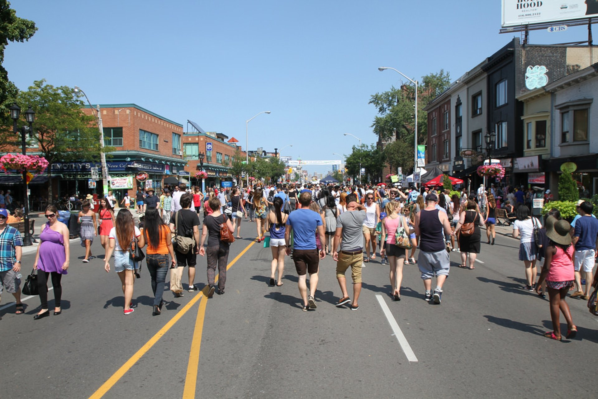 Best time to see Taste of the Danforth 2020