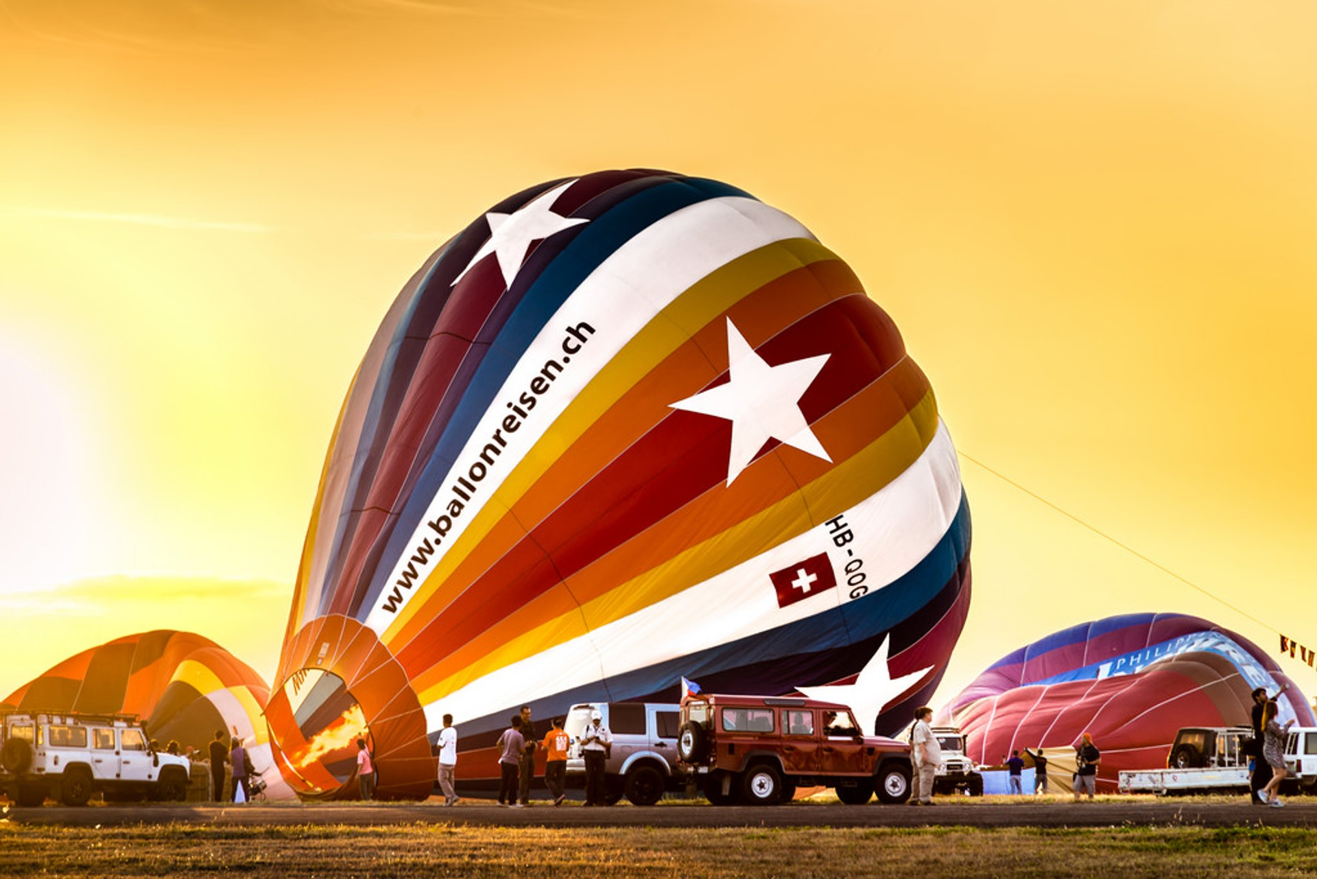 Philippine International Hot Air Balloon Fiesta in Philippines - Best Season 2020
