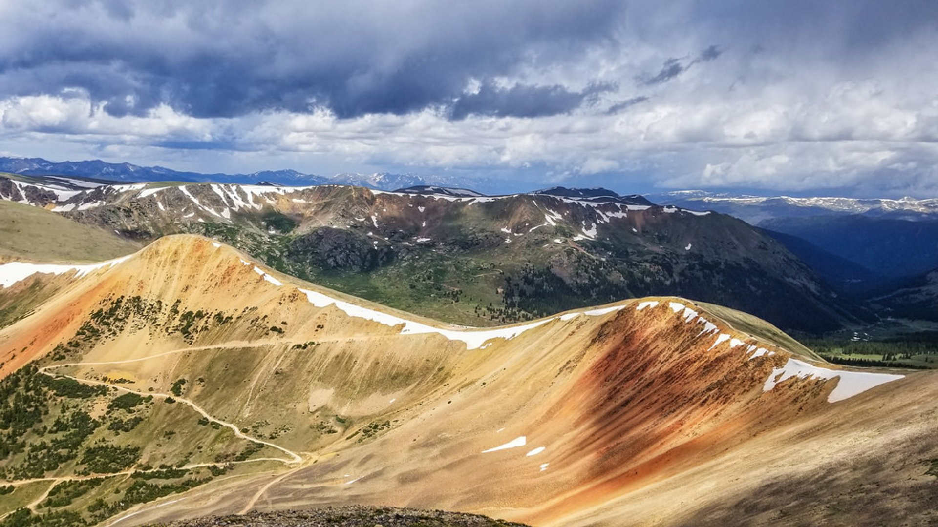 Red Cone Pass in Colorado - Best Season 2019