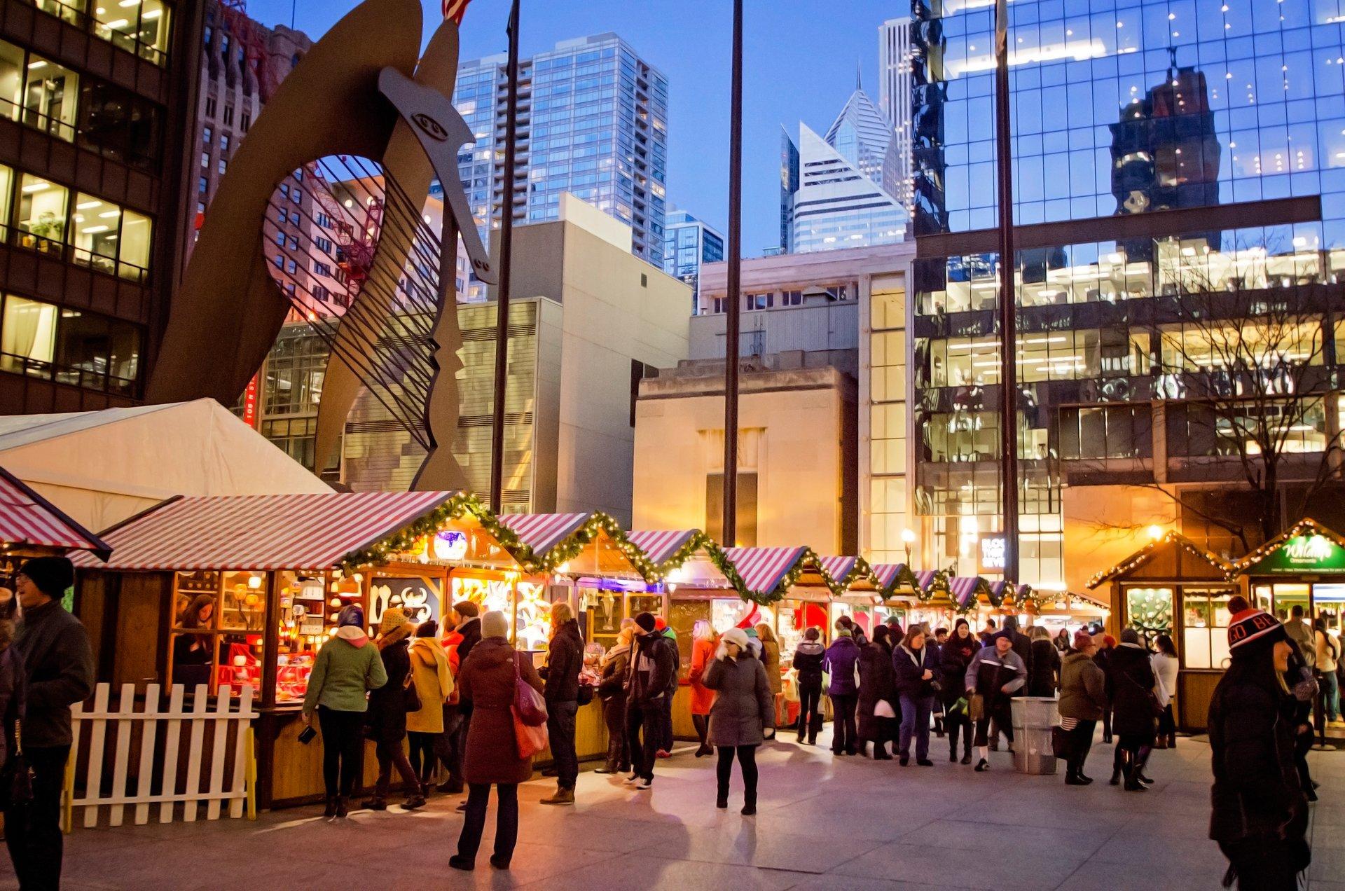 Chicago Christmas Market Dates 2020 Christkindlmarket Chicago 2019   Dates