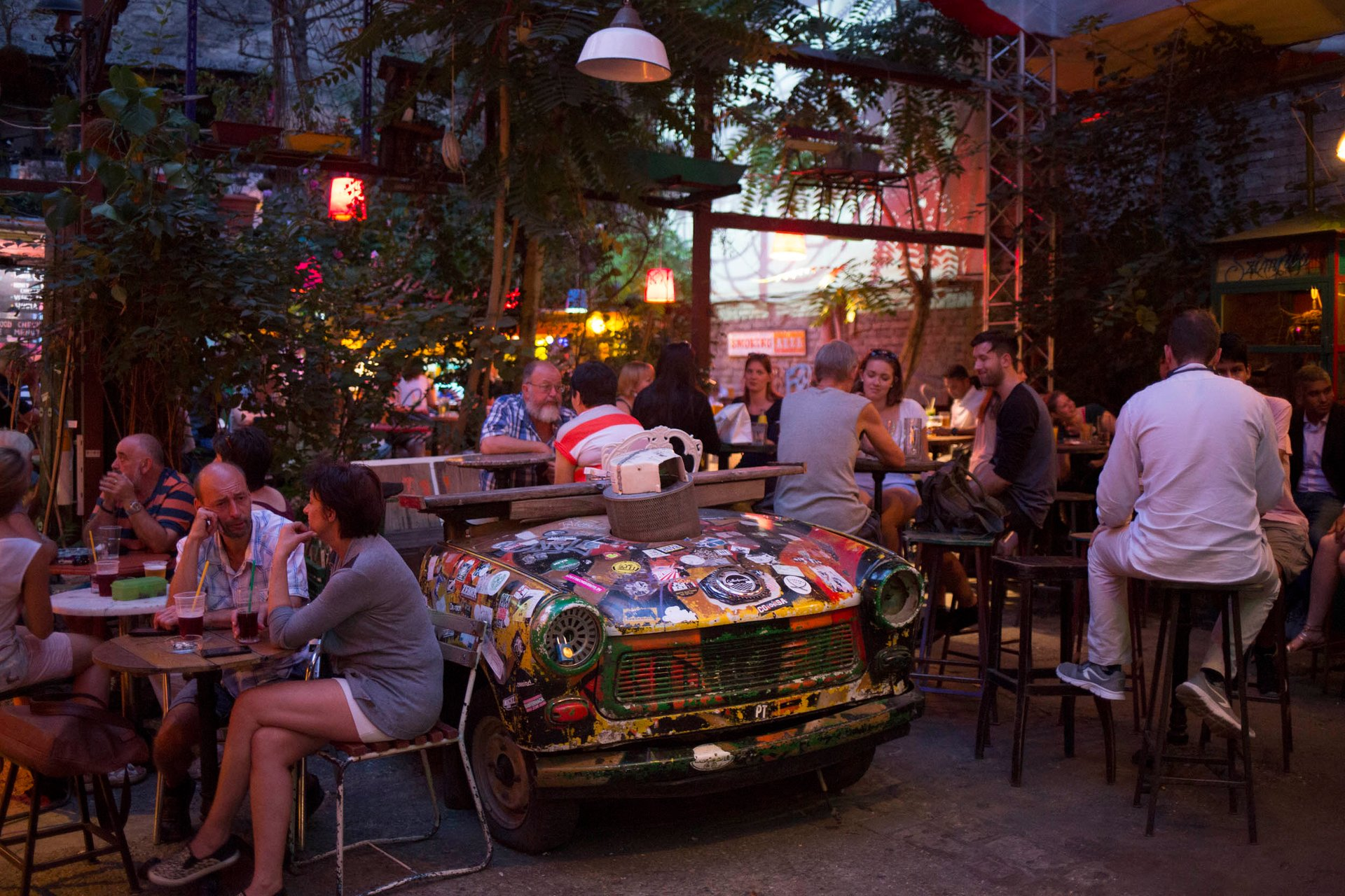 Szimpla Kert by night 2019