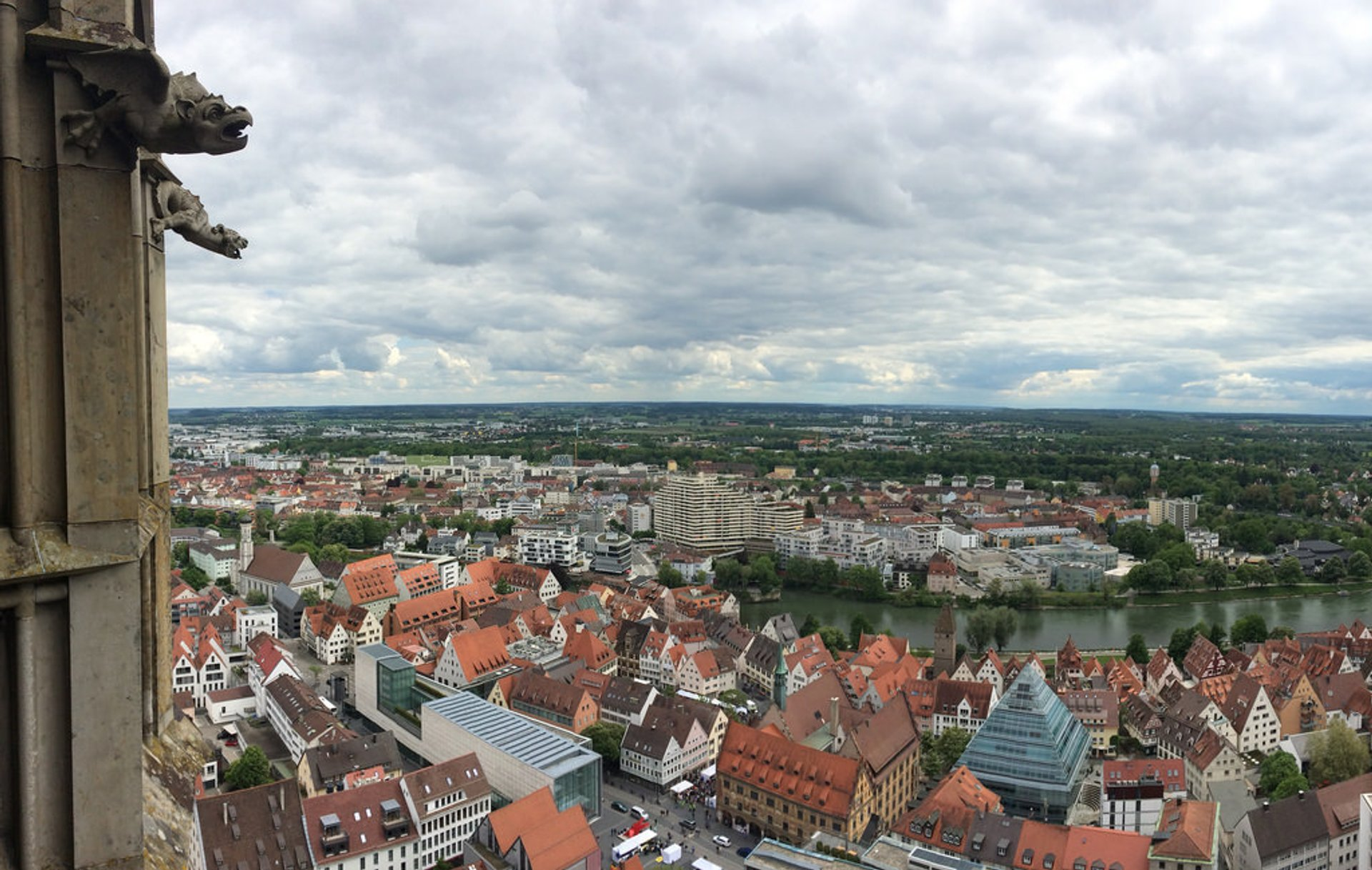 View from the Ulm Minster 2020
