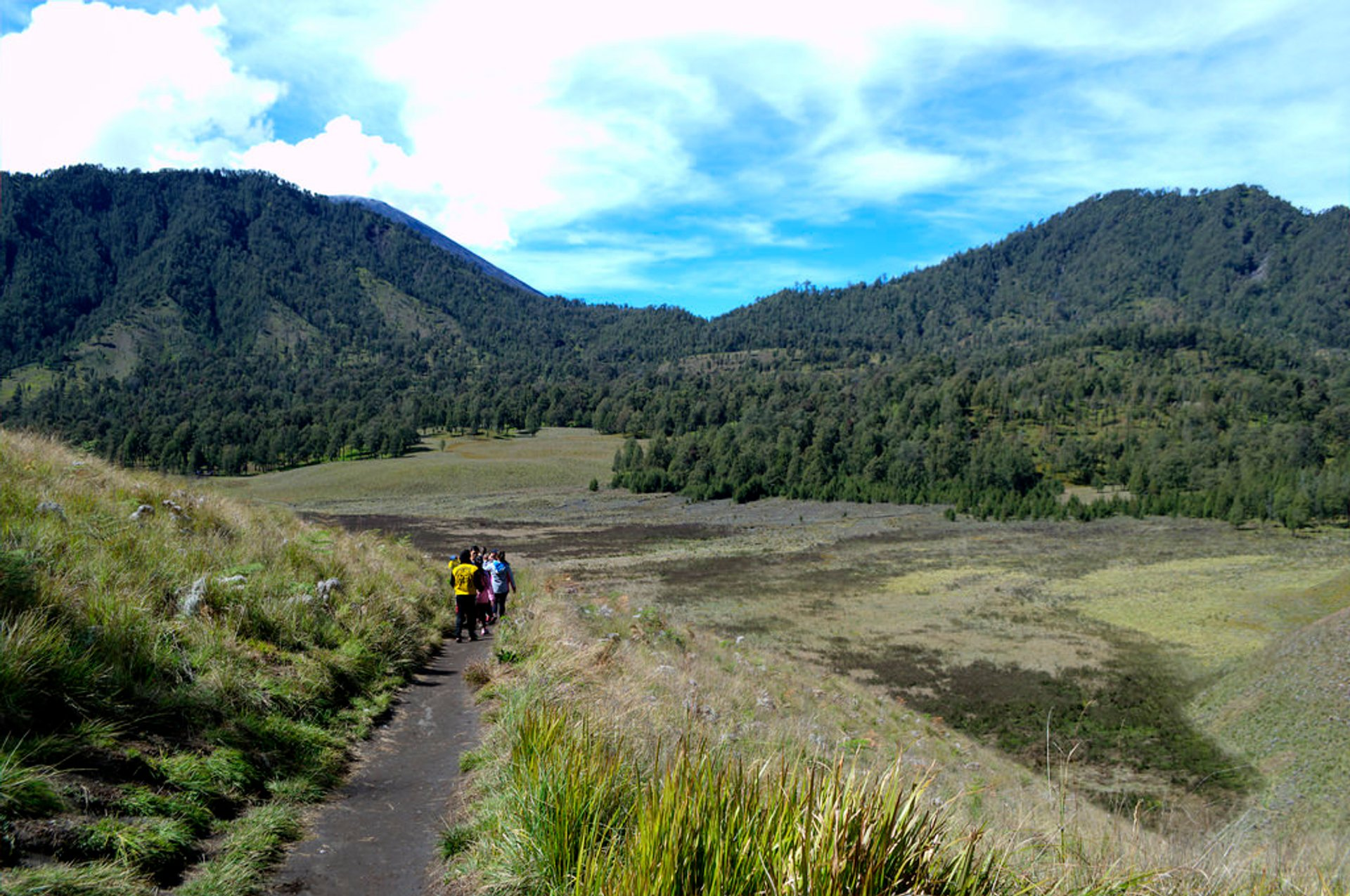 Climbing Mount Semeru in Java - Best Season 2020