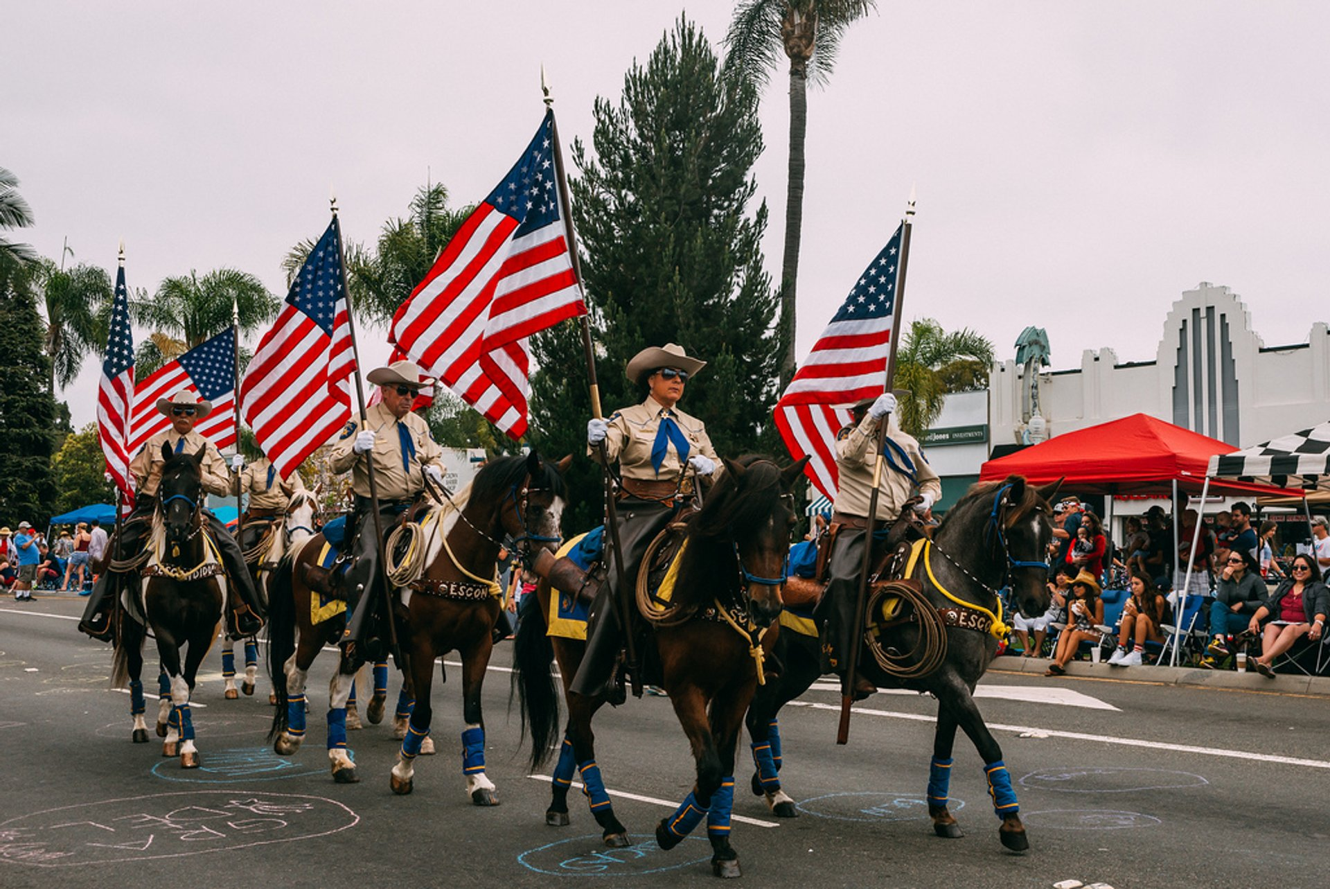 Independence Day Parade, Coronado 2020