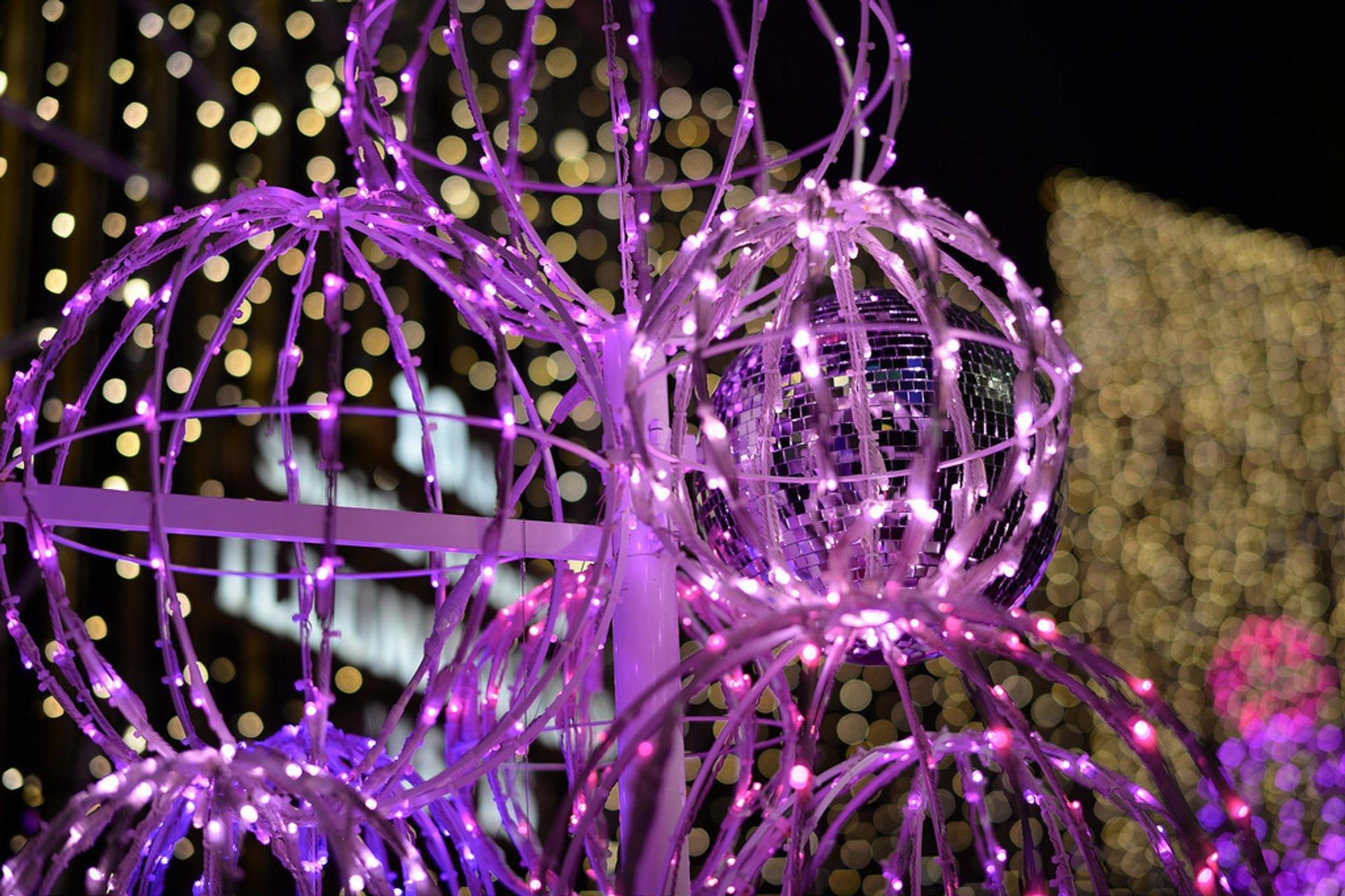 Winter Illumination in Tokyo 2020 - Best Time