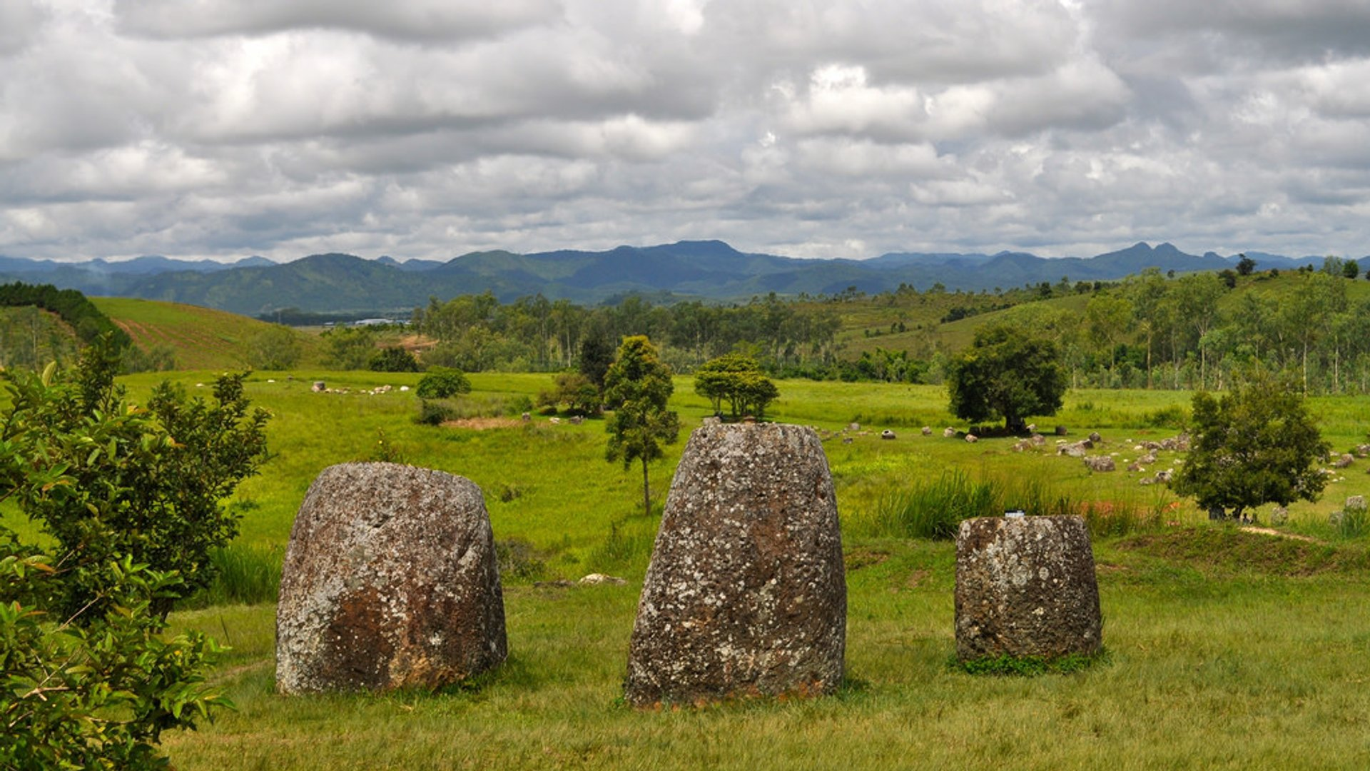 The Plain of Jars in Laos - Best Time