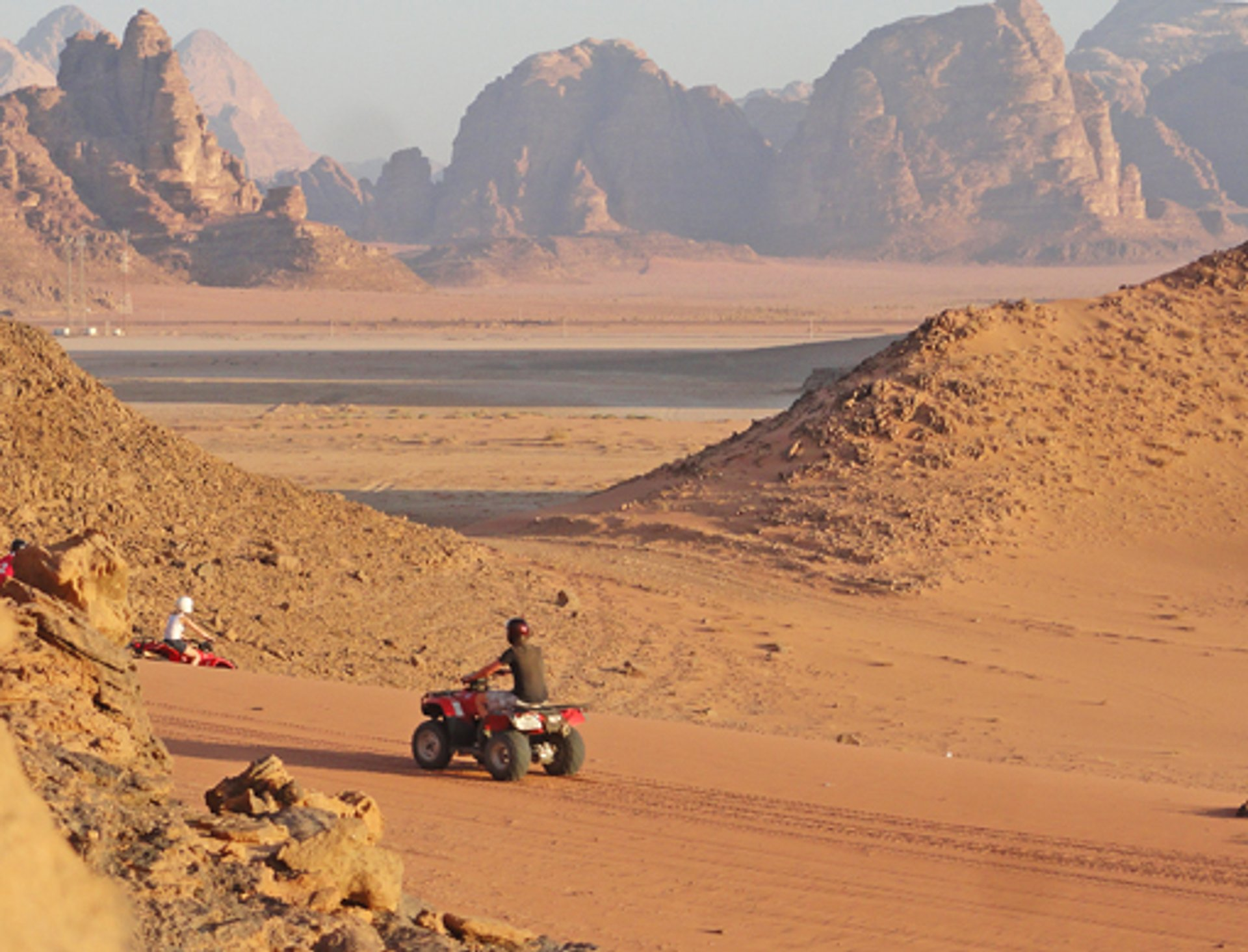 Desert ATVs at Wadi Rum 2019