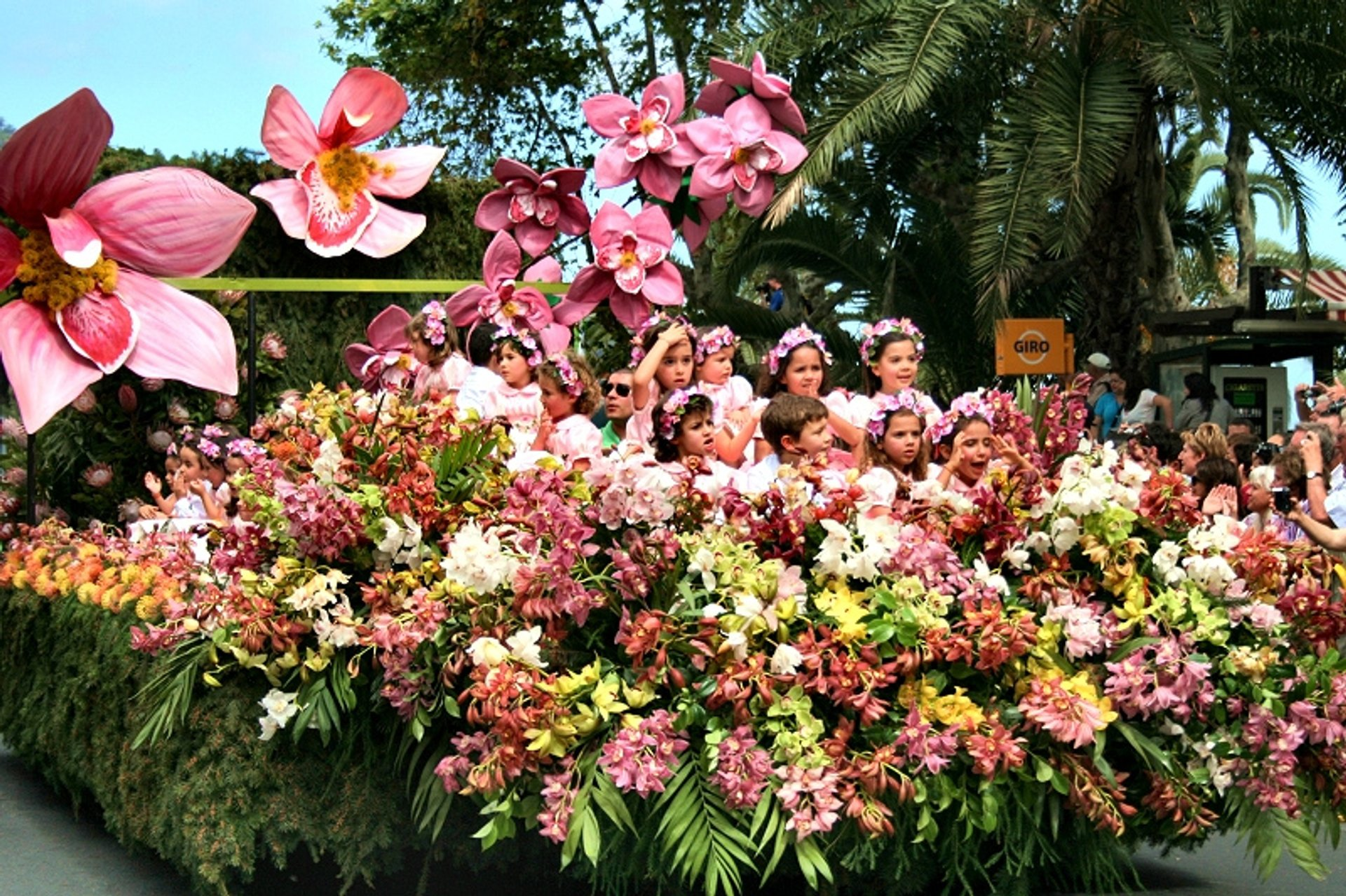Best time for Madeira Flower Festival in Madeira 2020