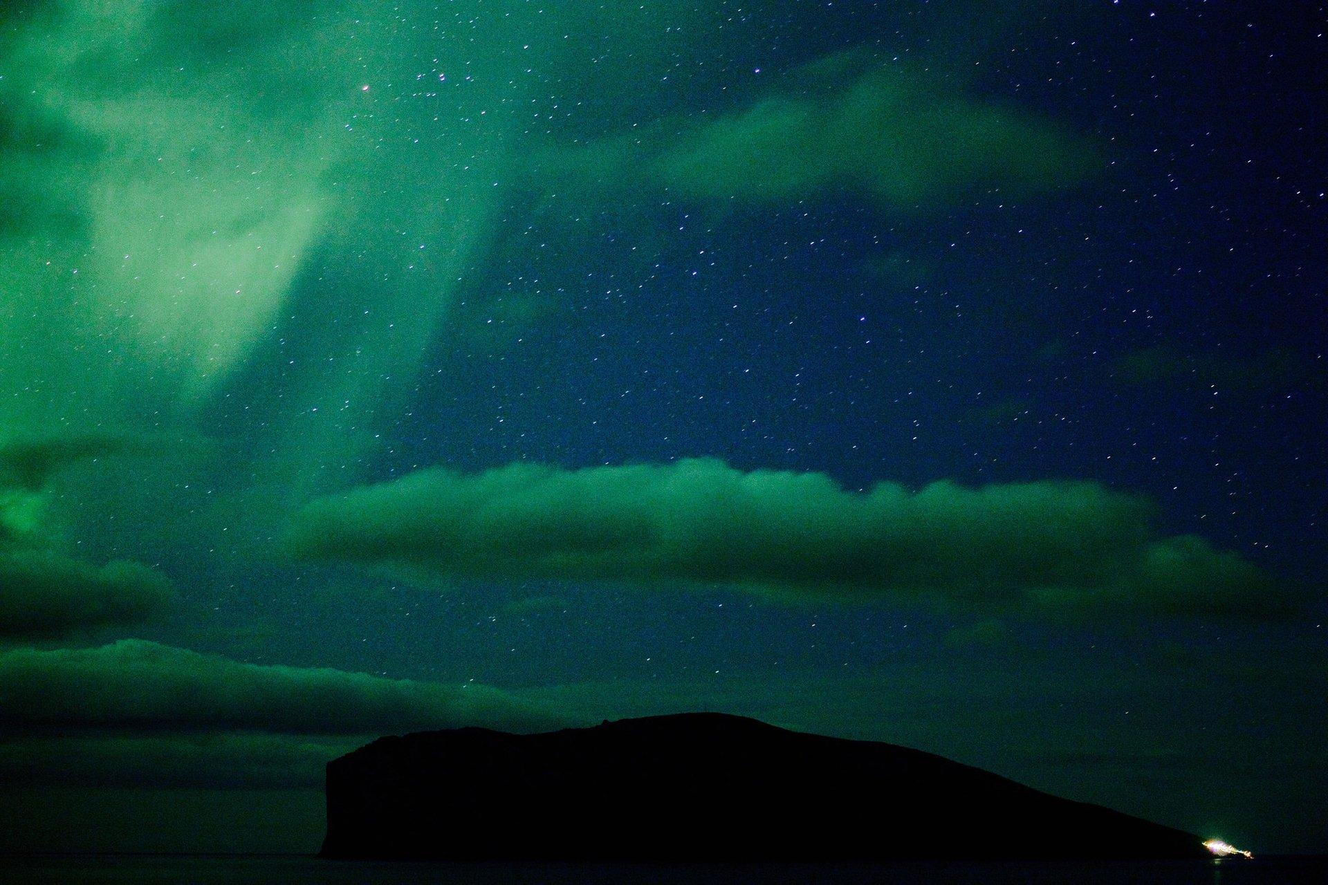Northern Lights in Viðareiði and Hvannasund 2020