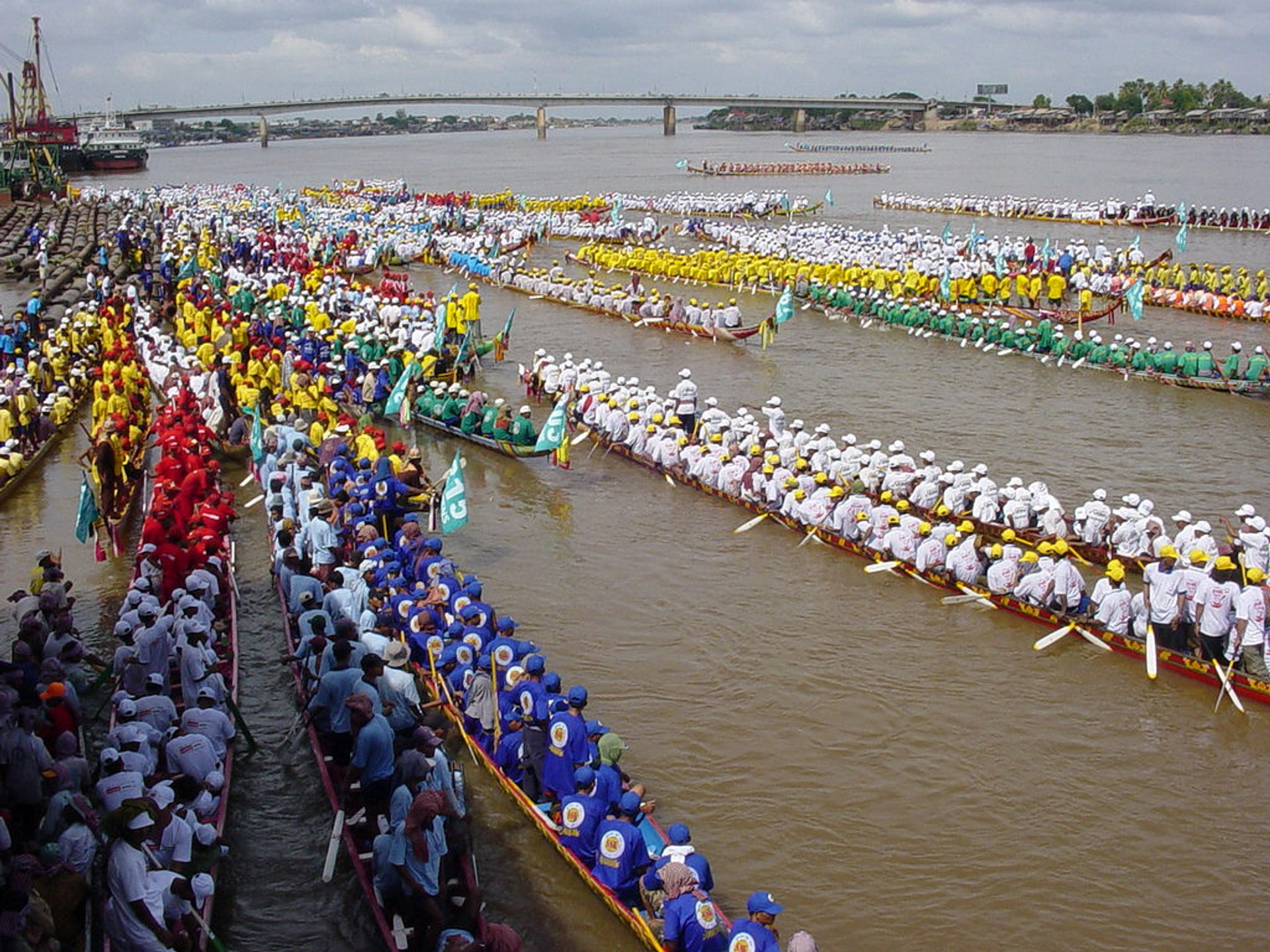 Water Festival or Bon Om Touk in Cambodia 2020 - Best Time