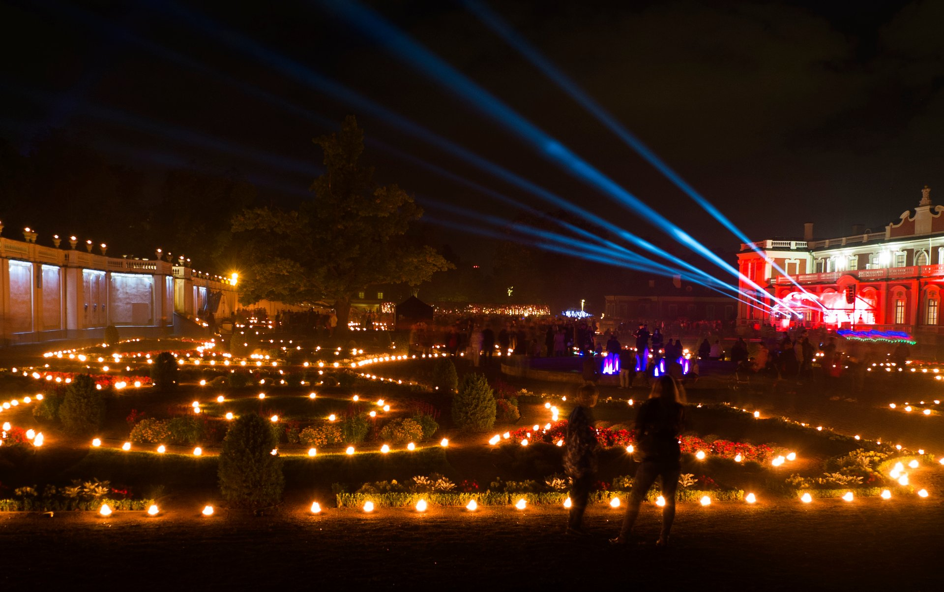 Light Walks in Kadriorg in Estonia 2020 - Best Time