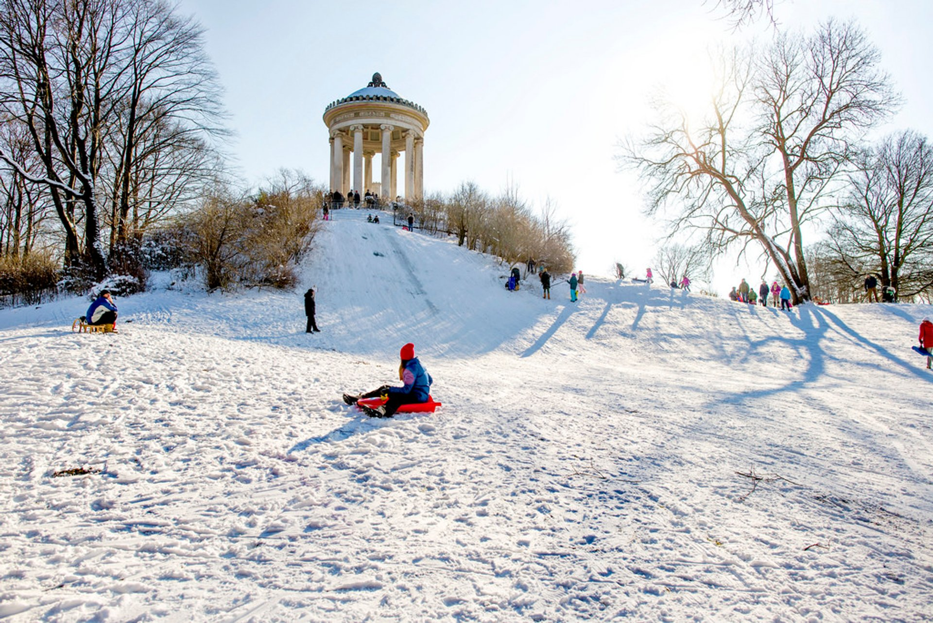 Sledging  in Munich - Best Season 2020