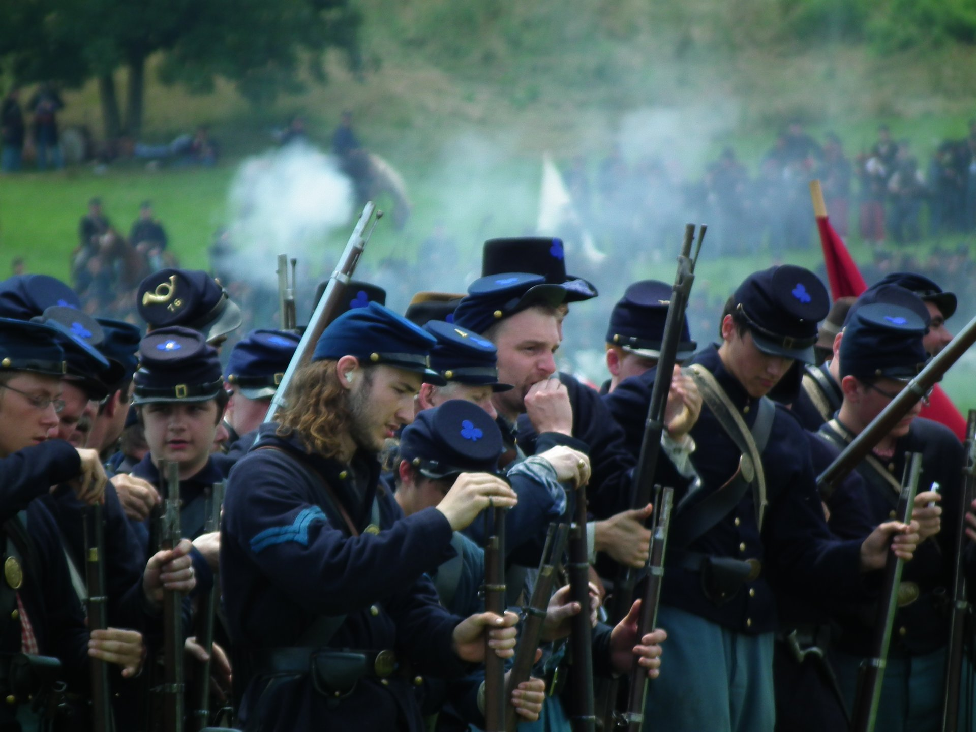 Civil war reenactment participants - Welcome to the Marion ...