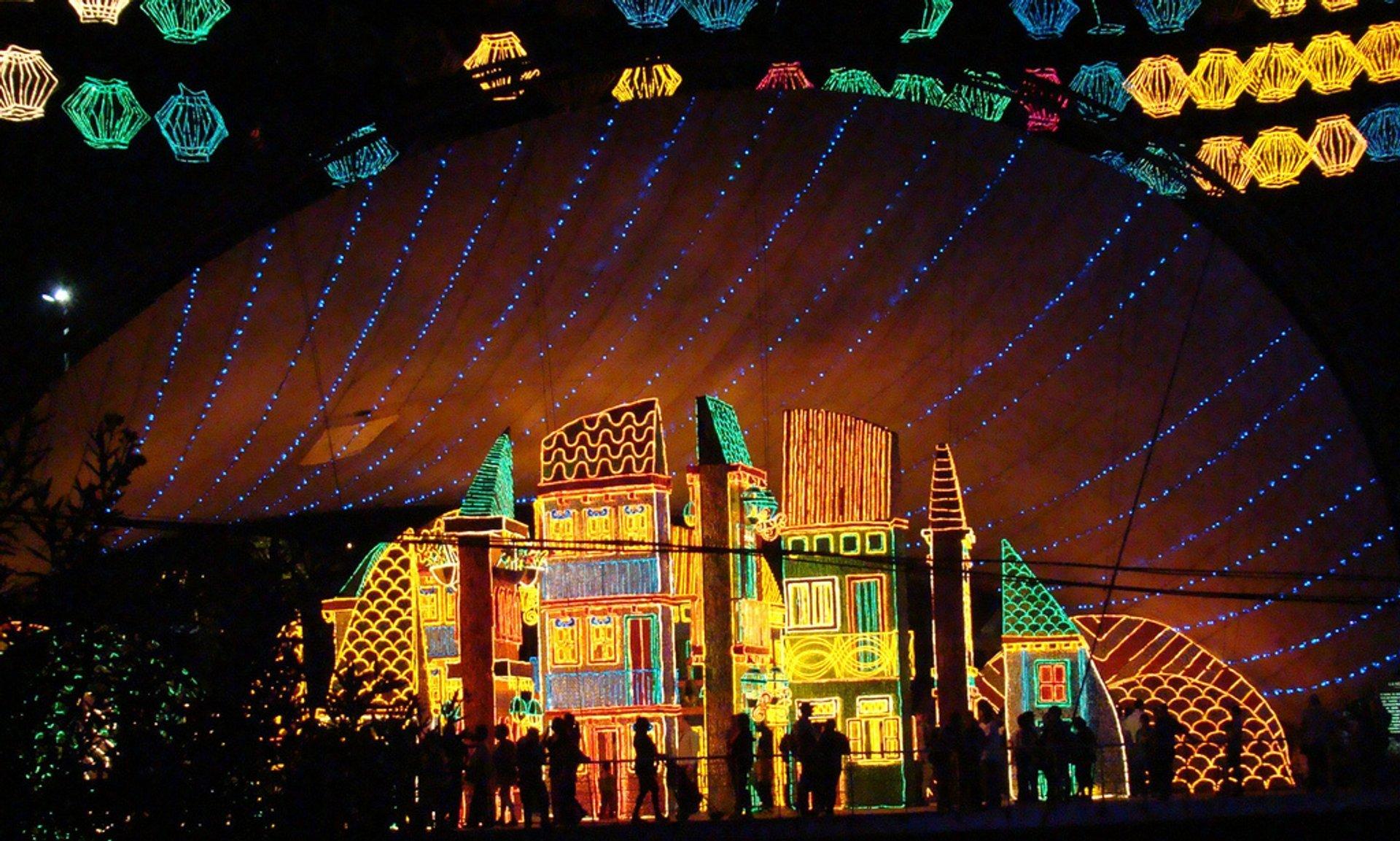 Best time for Christmas Lights (Alumbrados) in Medellín in Colombia 2020