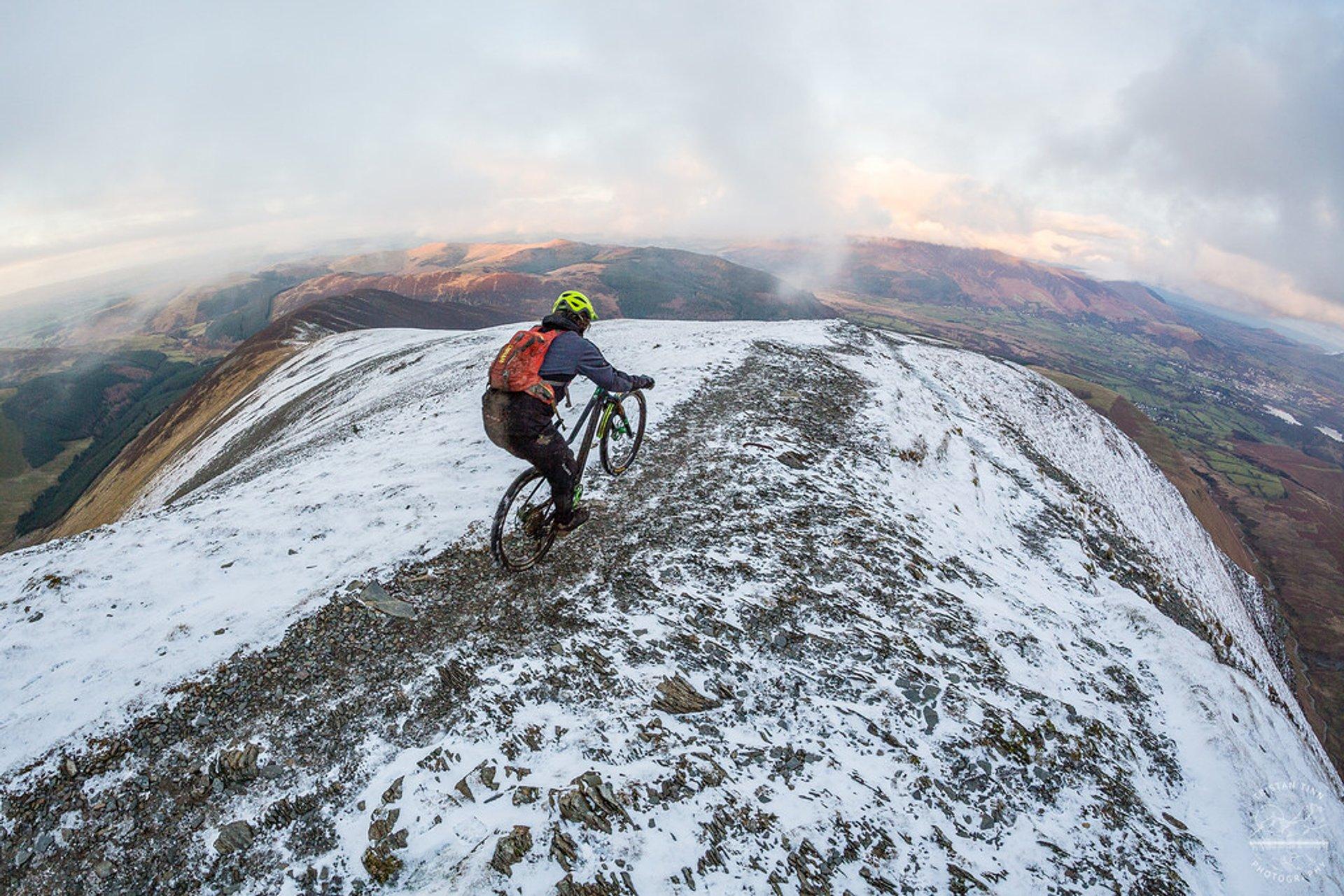 Winter Mountain Biking in England - Best Season 2019