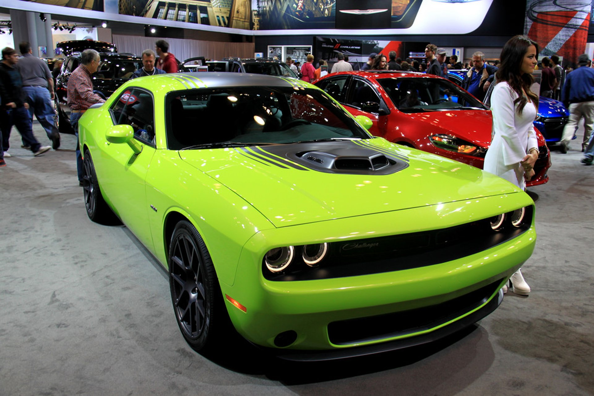 Dodge Challenger at the 2014 New York International Auto Show 2020