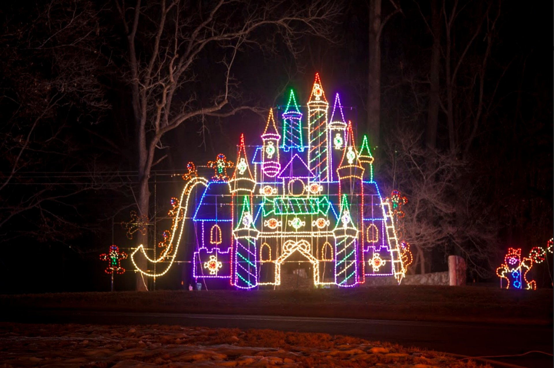Best time to see Tanglewood Park Festival of Lights in North Carolina 2020