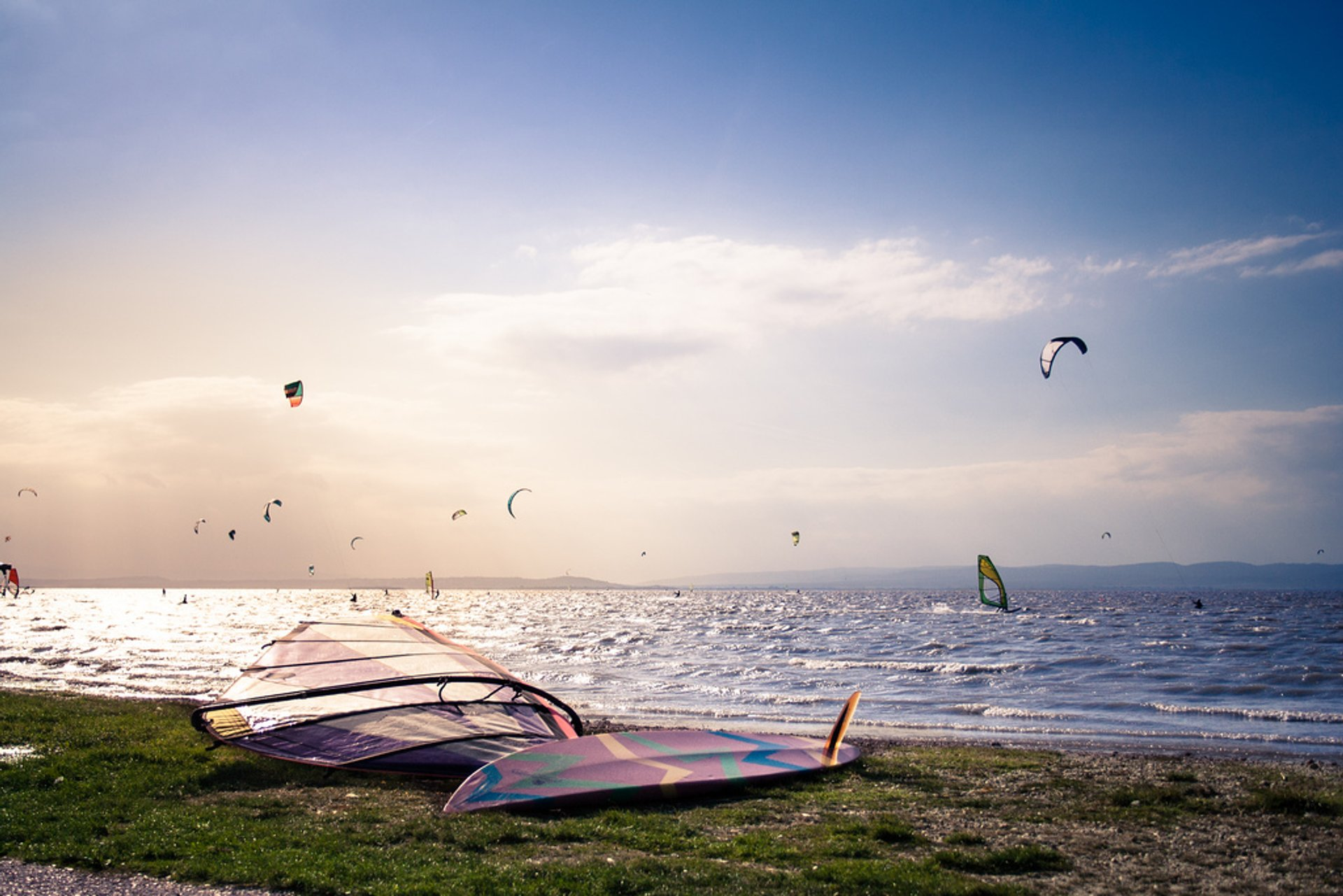 Wind and Kitesurfing in Austria 2020 - Best Time
