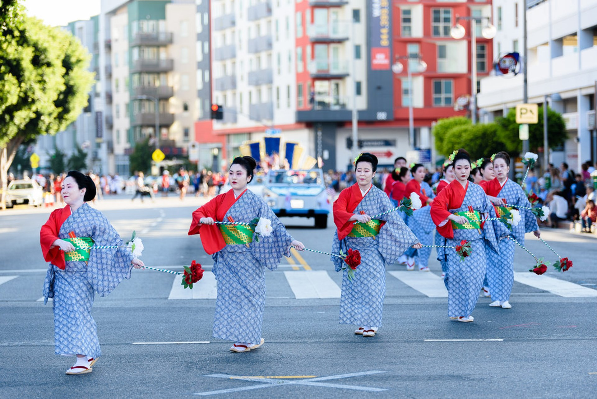 Japanese Traditional Dancers 2020