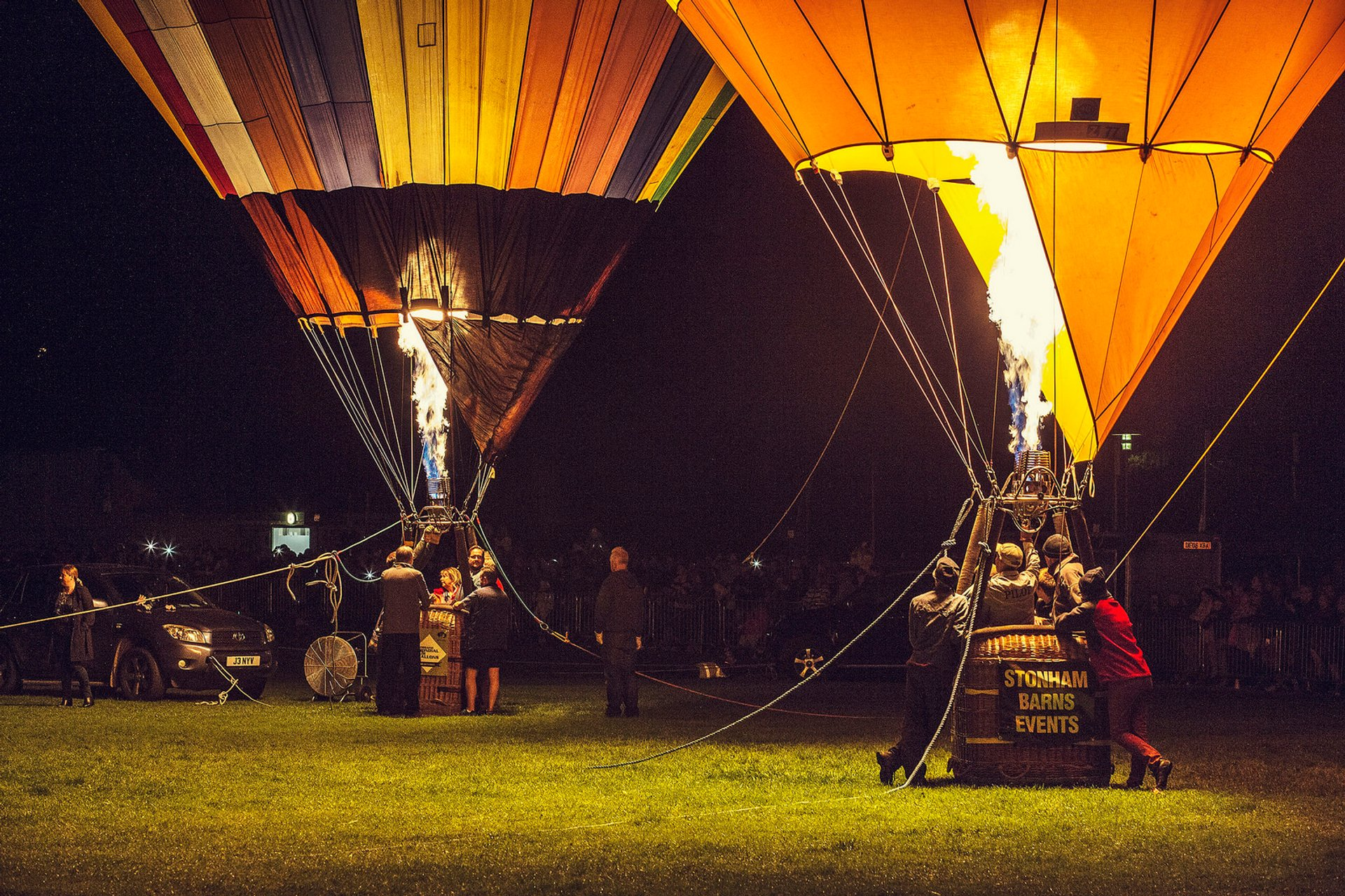 Balloon Carnival in Oswestry in England - Best Season 2019