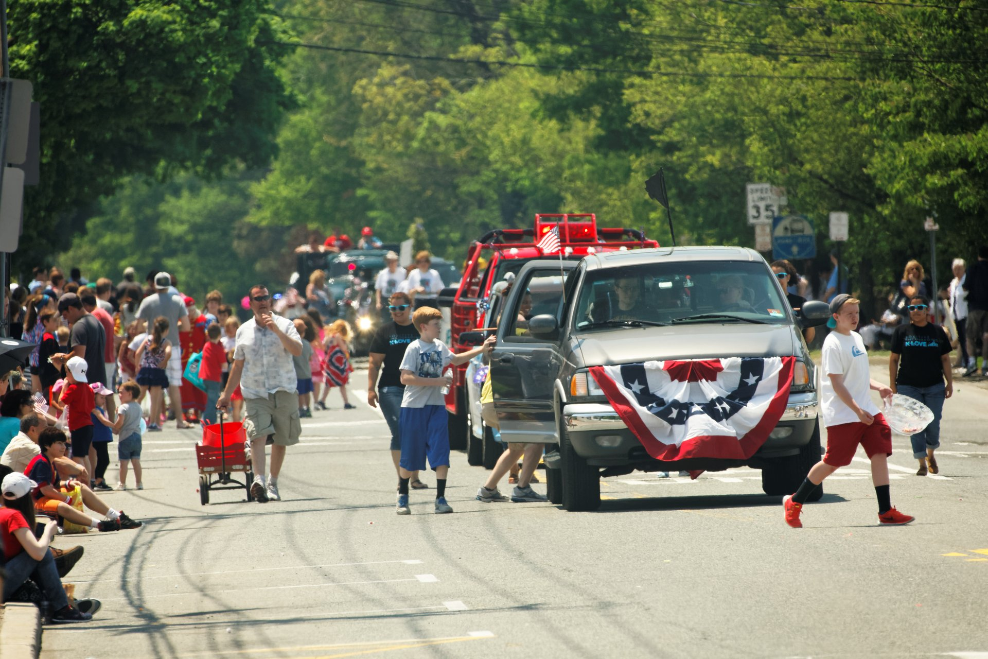 Memorial Day Parade in Wyckoff, New Jersey 2020