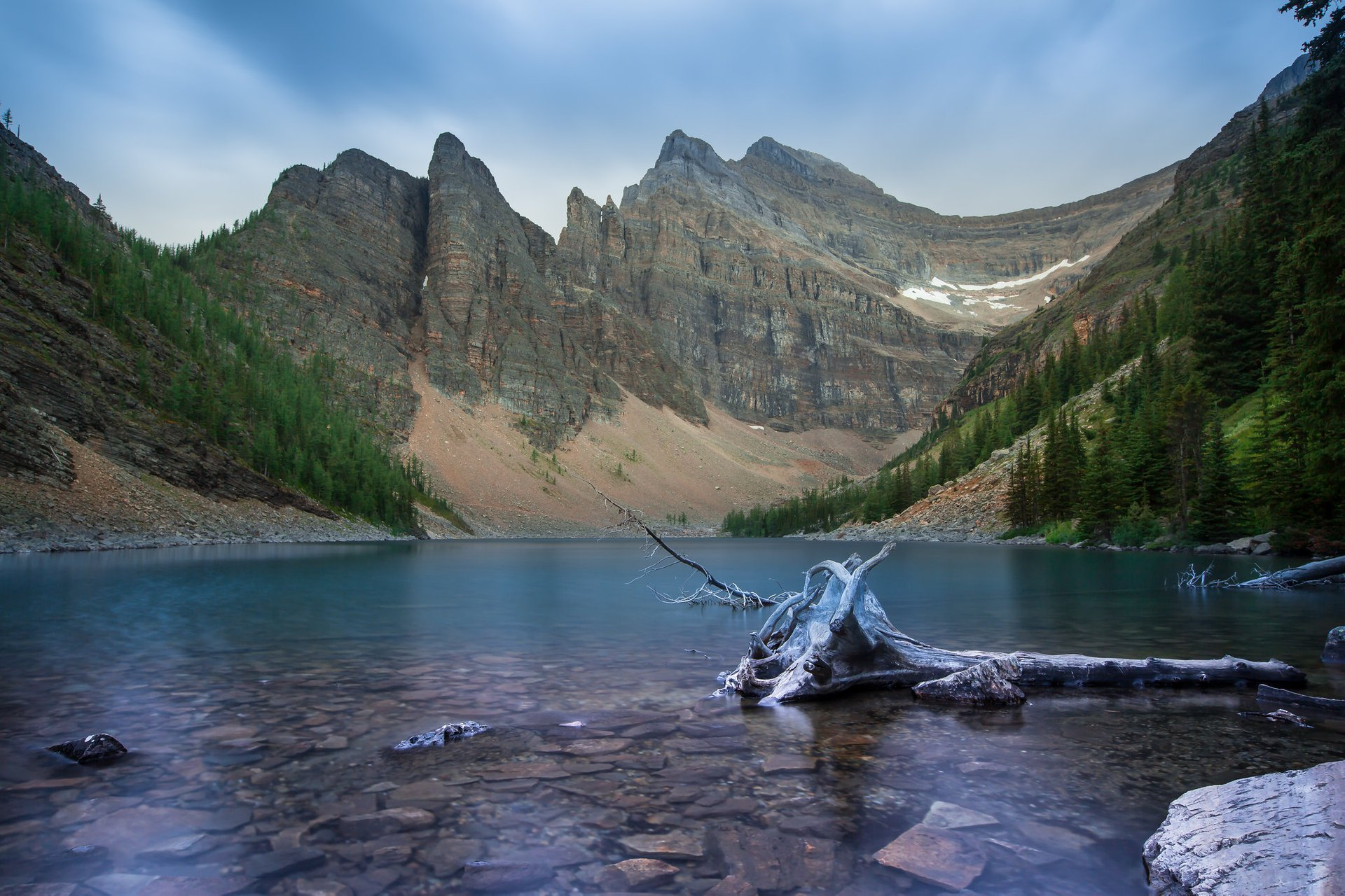 Lake Agnes and the Devil's Thumb 2020