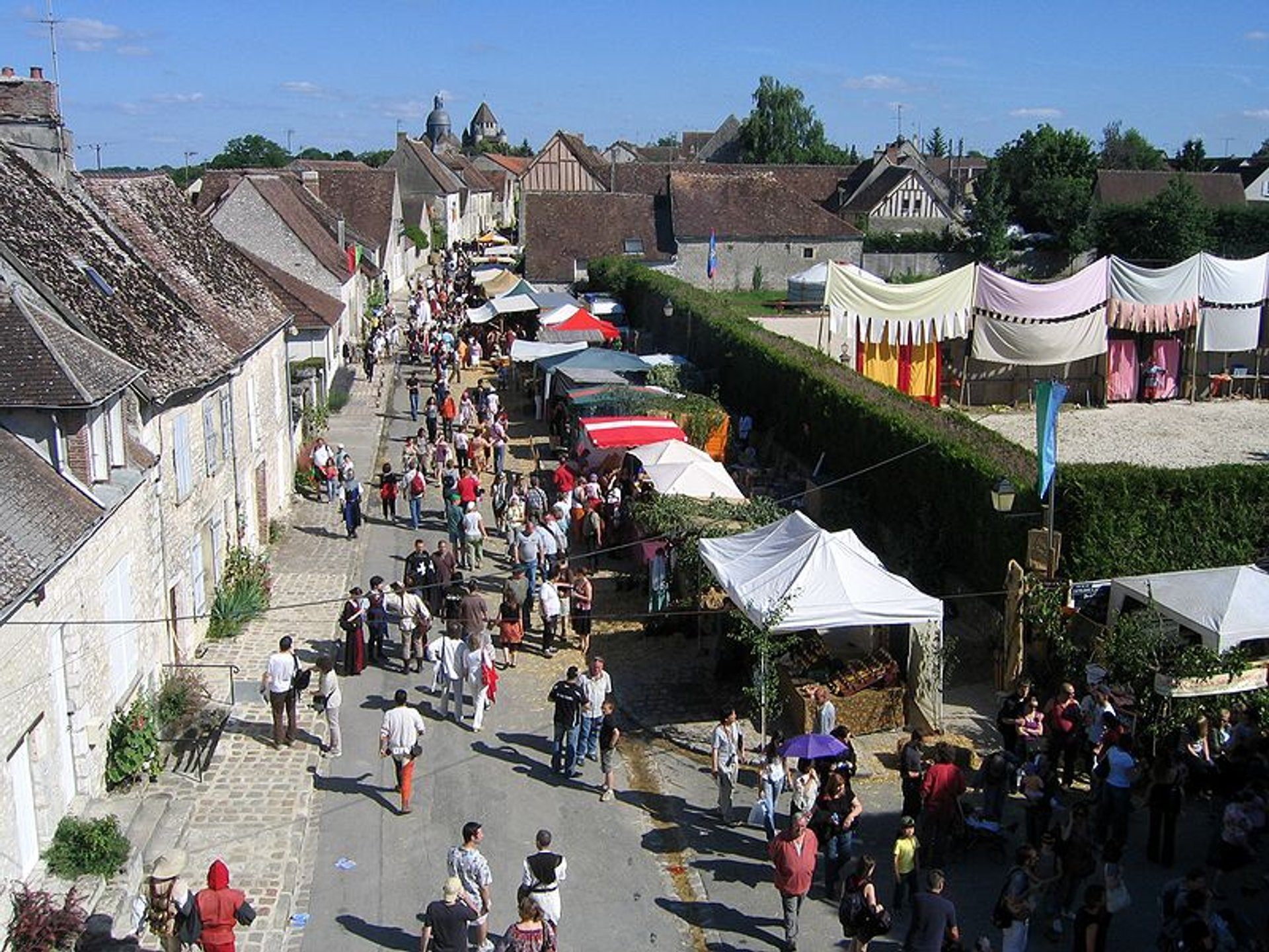 Best time to see Medieval Festivals in France 2020