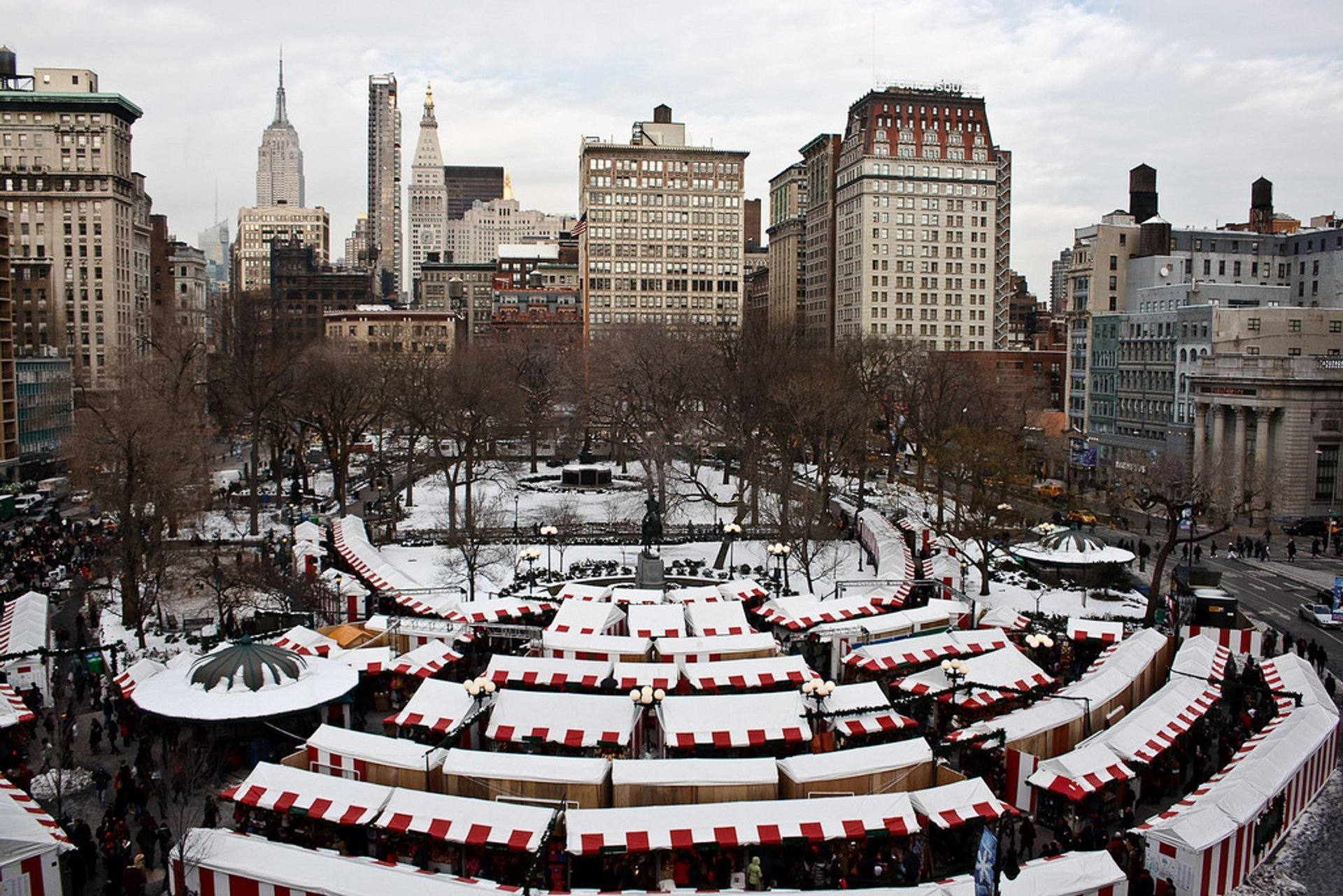 Christmas Ny 2019.Christmas Markets 2019 In New York Dates Map