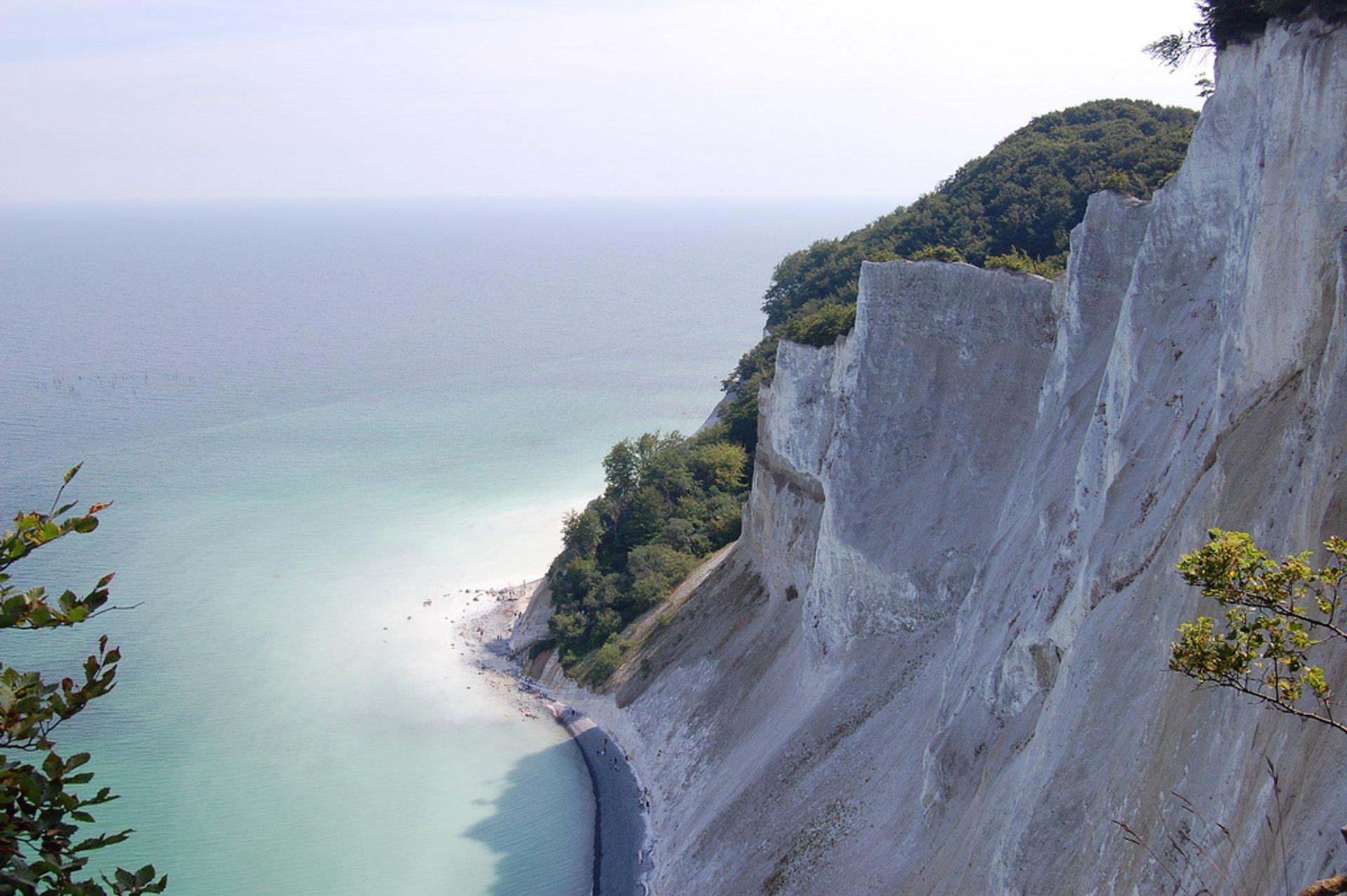 Best time for White Cliffs of Møns Klint in Denmark 2020