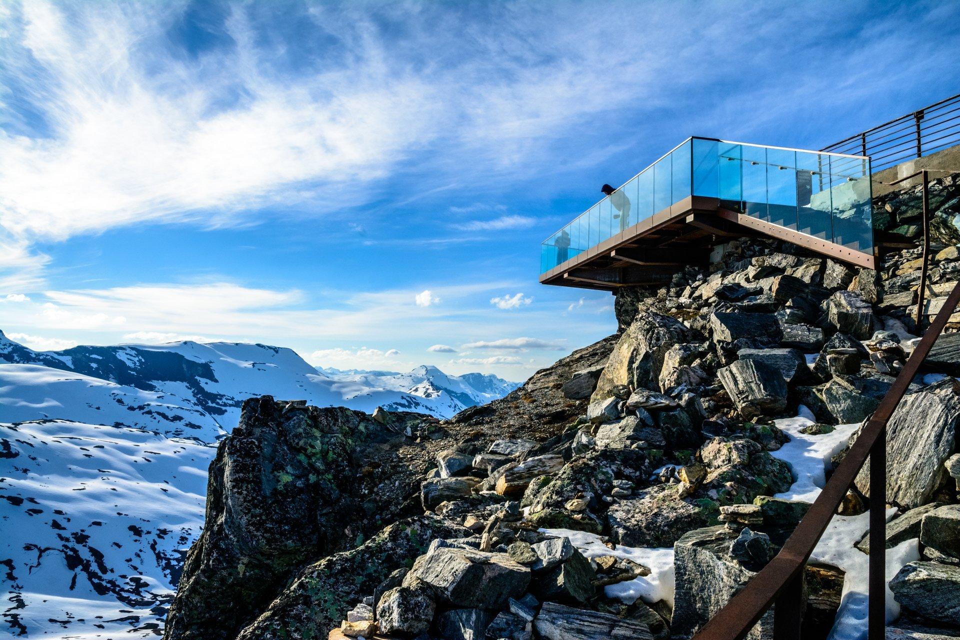 Dalsnibba in Norway - Best Season 2019