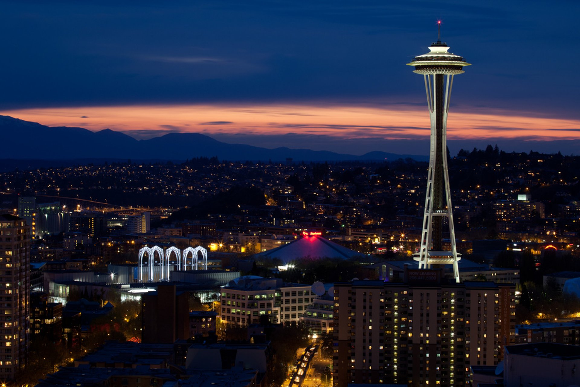 Best time for Space Needle 2019