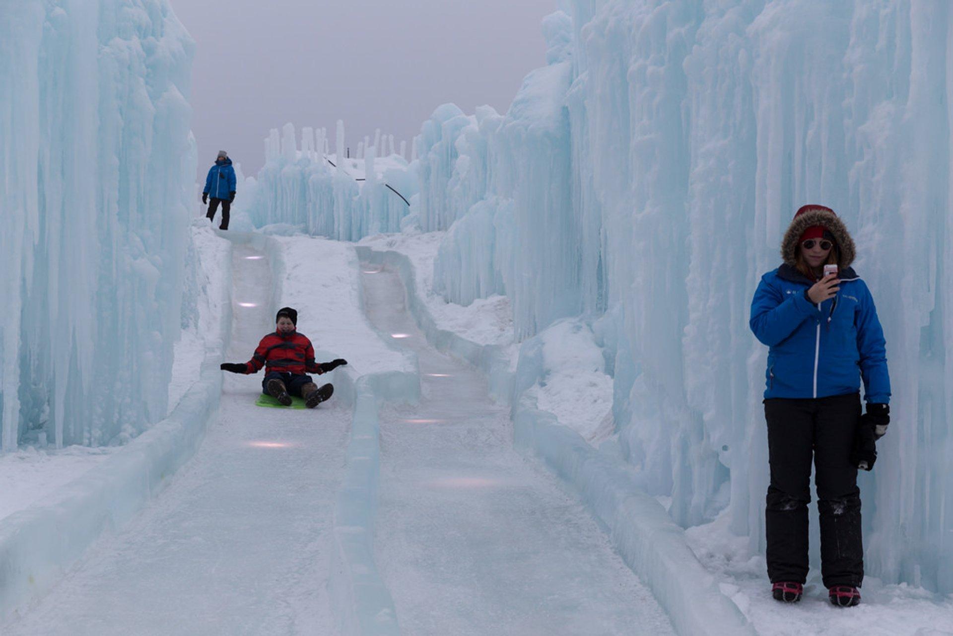 Ice Castles Edmonton, Alberta 2020