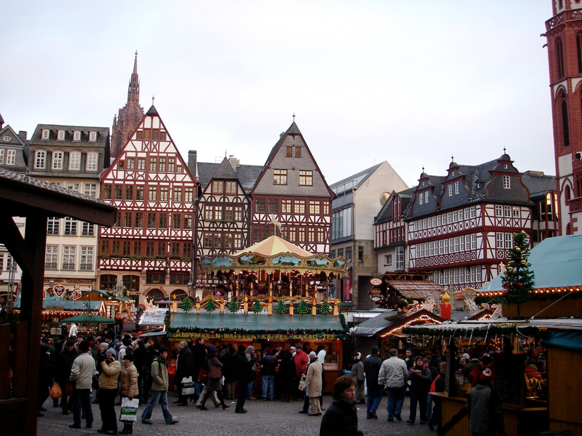 Frankfurt - Weihnachtsmarkt 2020