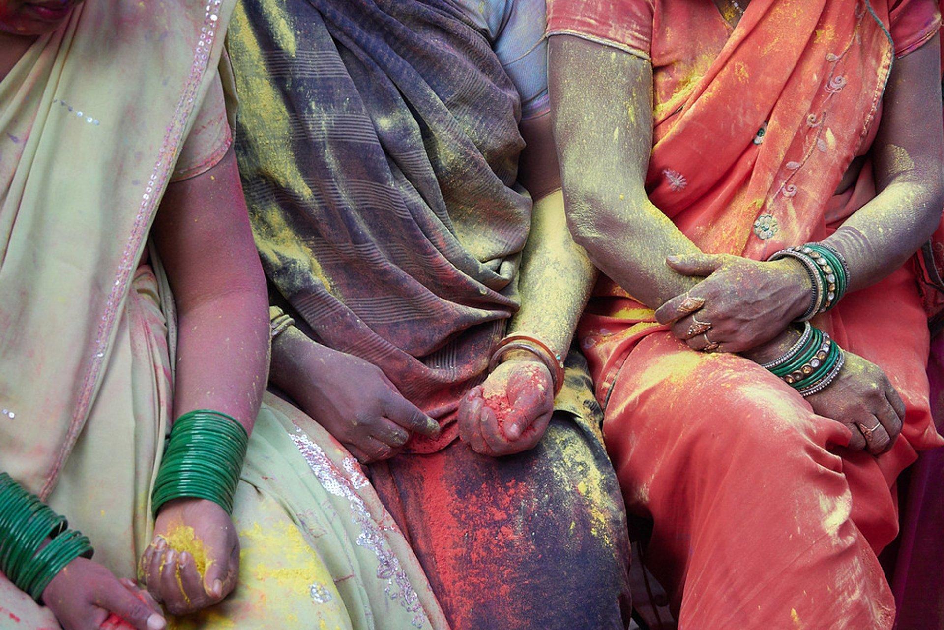 Holi in Vrindavan 2019