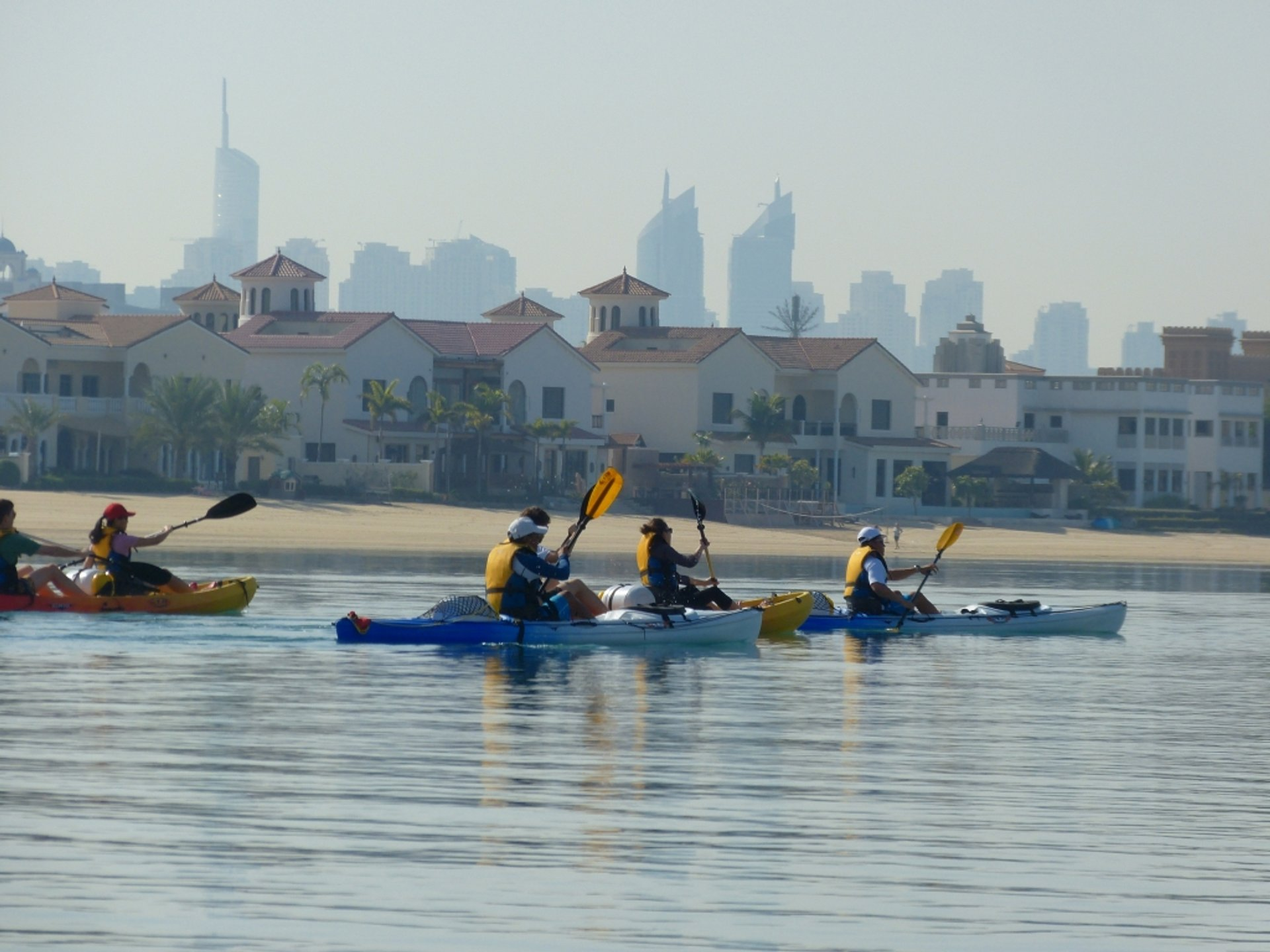 Kayaking and Canoeing in Dubai 2019 - Best Time