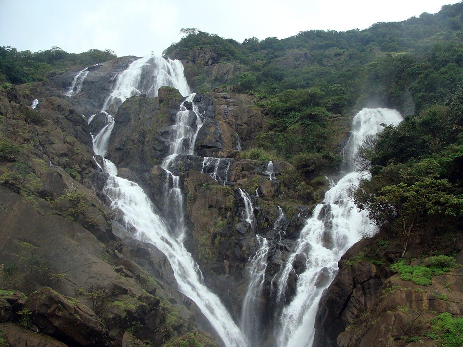 Dudhsagar Falls 2020