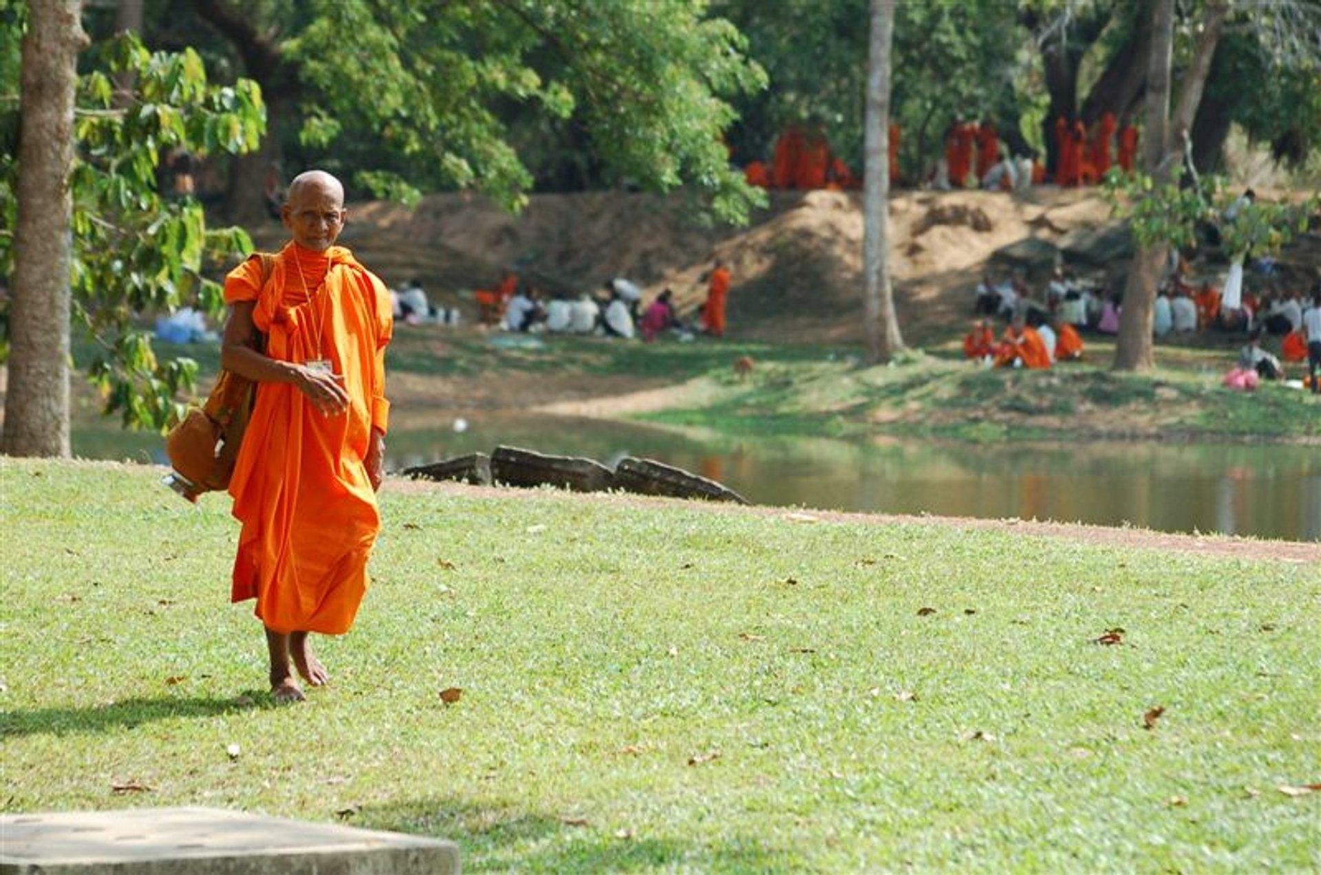 Visak Bochea Day in Cambodia - Best Season 2020