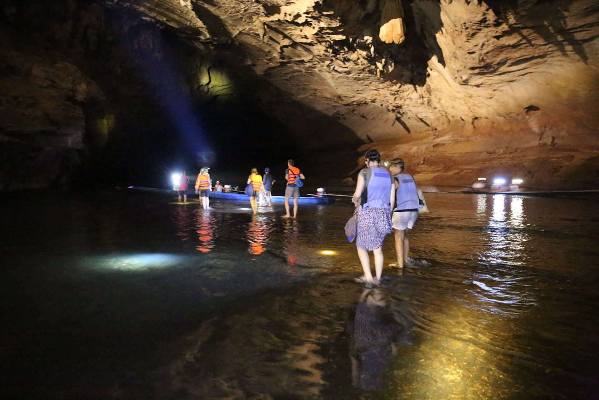 Exploring Caves in Laos - Best Season 2020