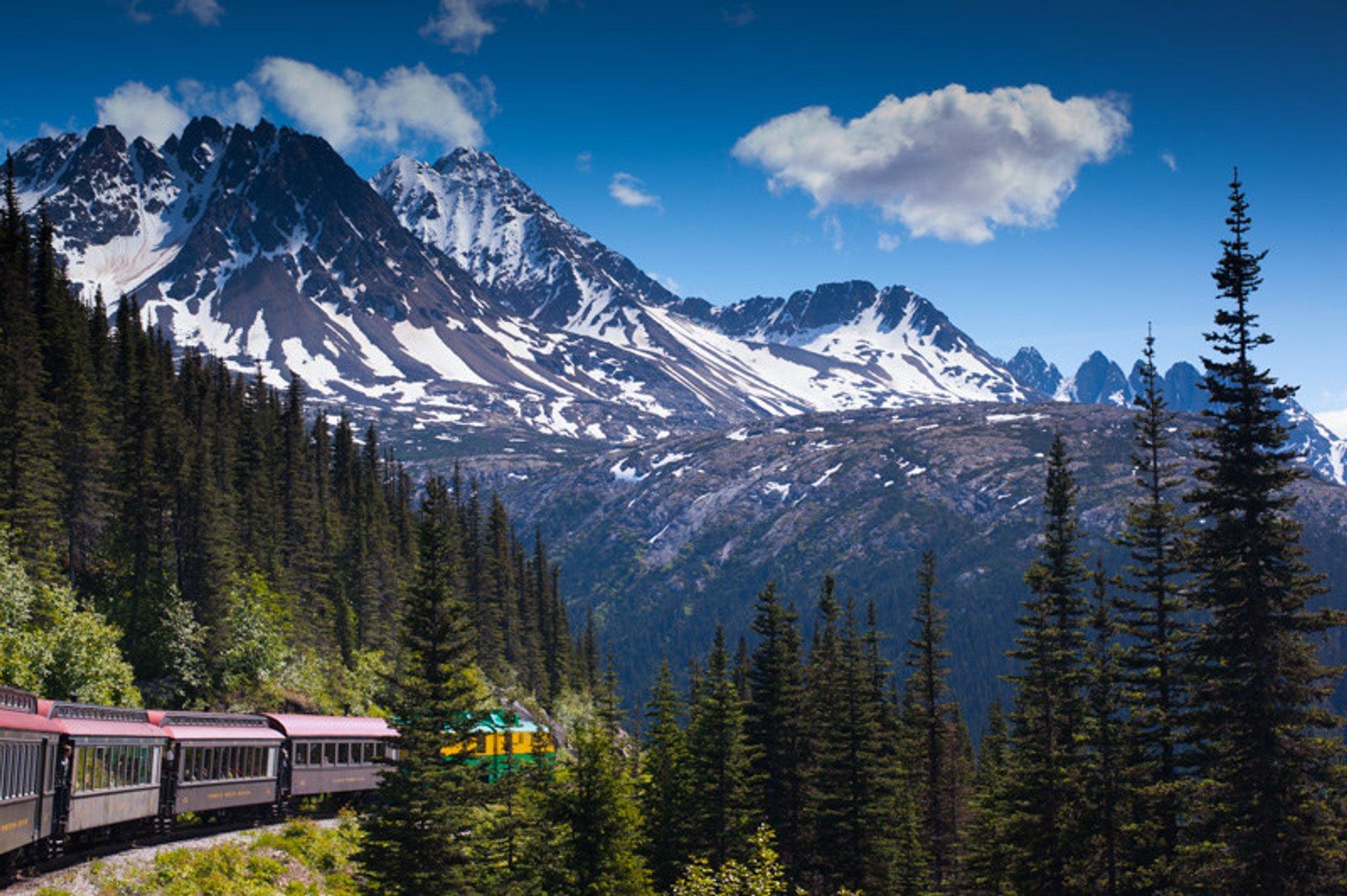 White Pass & Yukon Railroad, Canada 2020