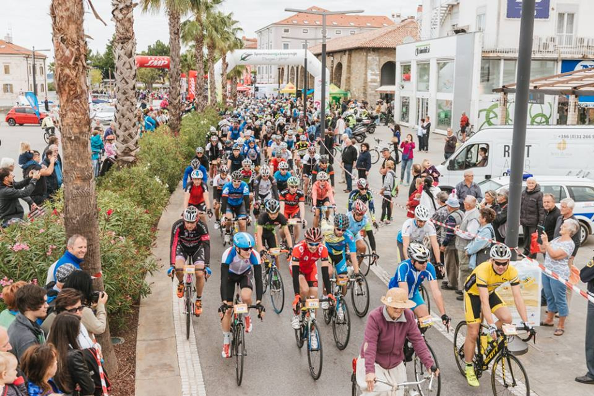 Istrian Cycling Marathon in Slovenia 2020 - Best Time