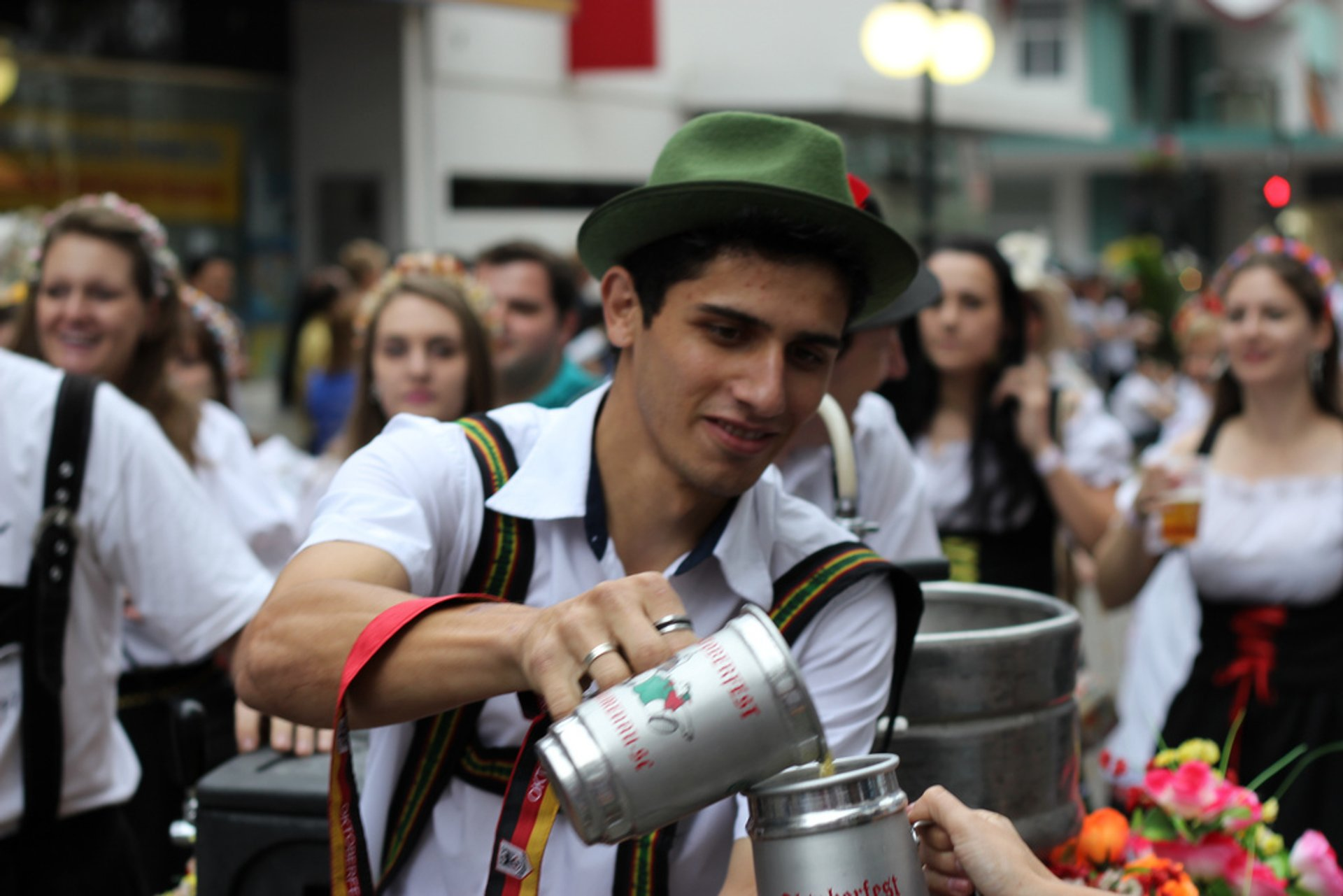 Best time to see Oktoberfest Blumenau 2020