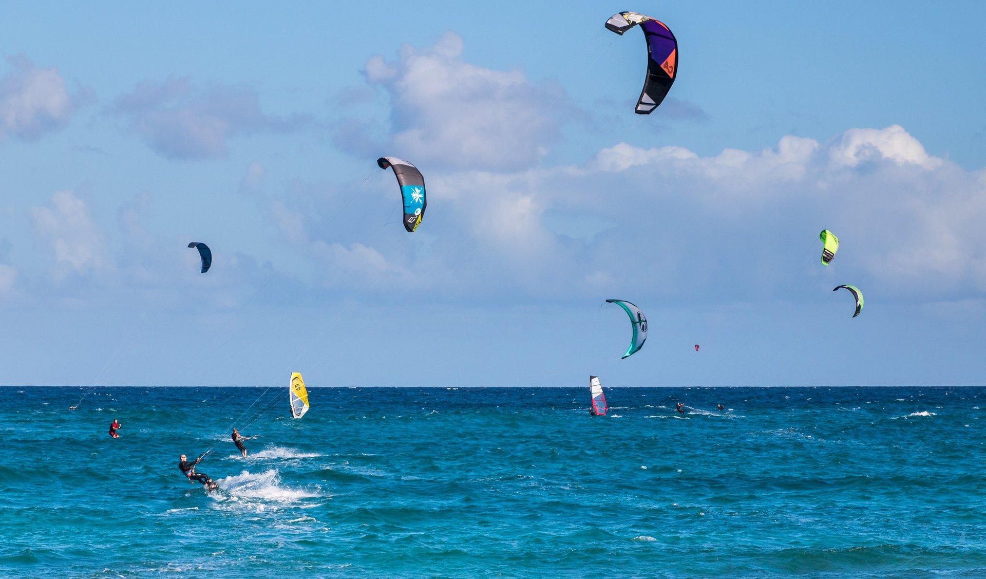 Flag Beach on Fuerteventura 2020