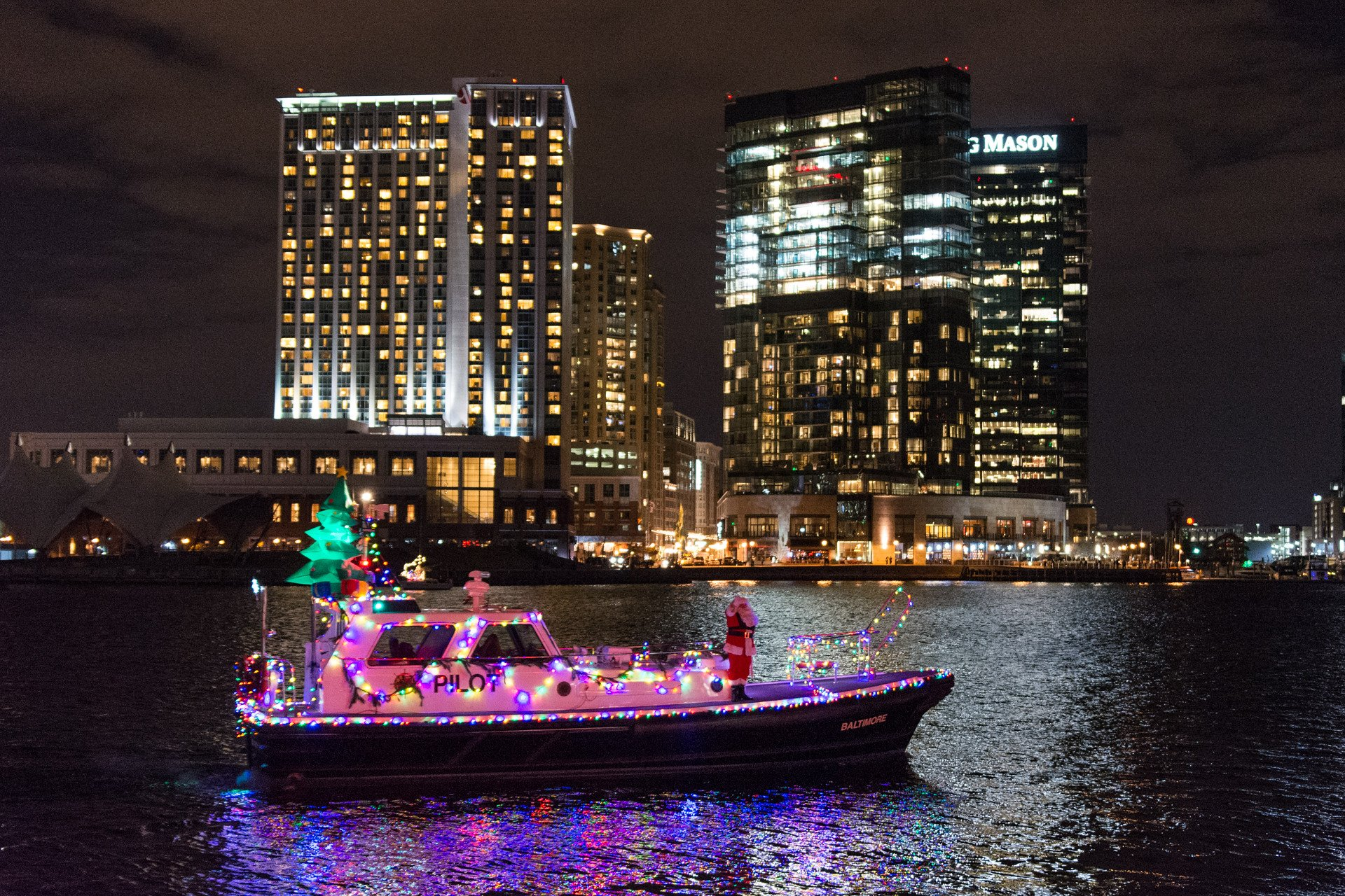 Baltimore Parade of Lighted Boats 2020