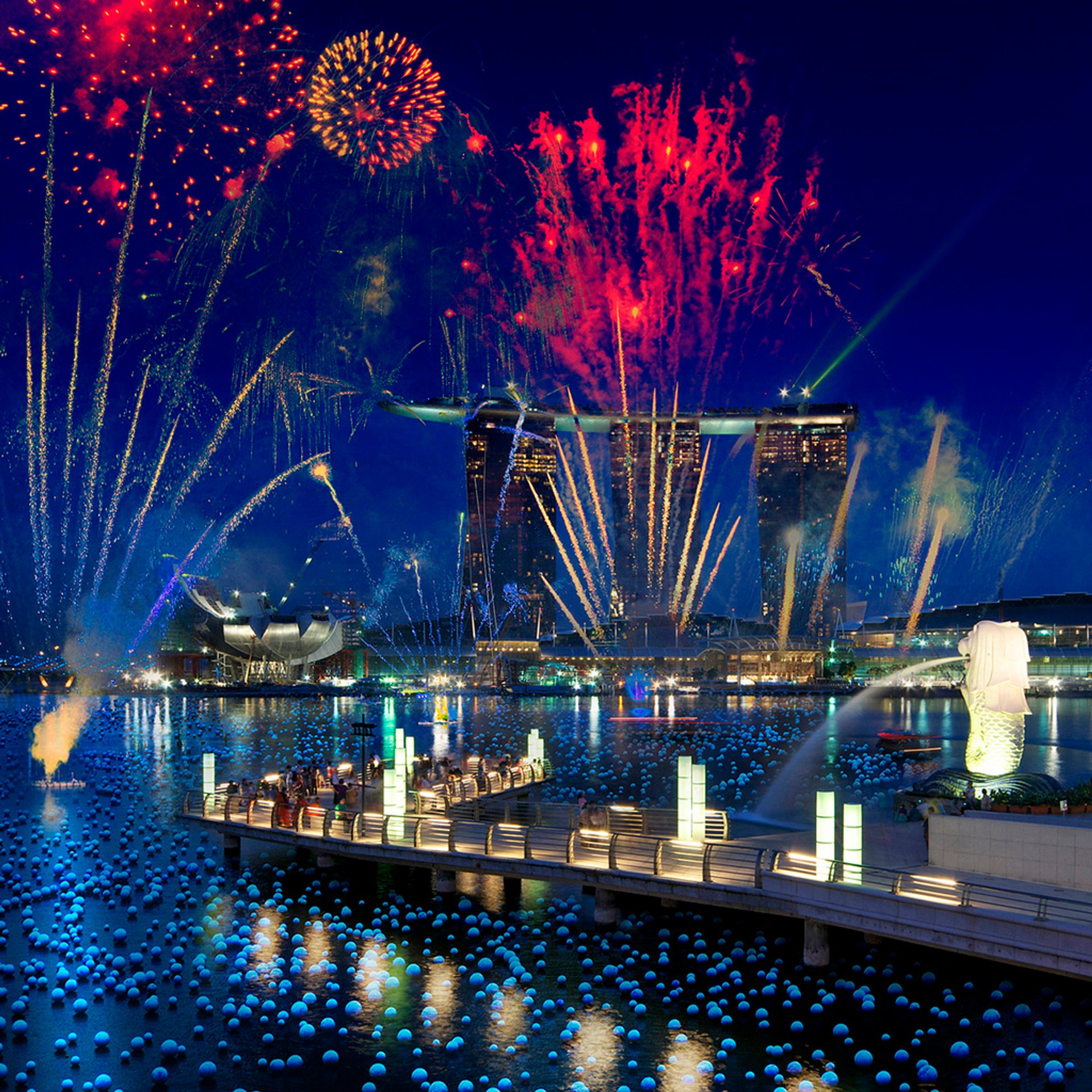 Marina Bay Singapore Countdown in Singapore 2019 - Best Time