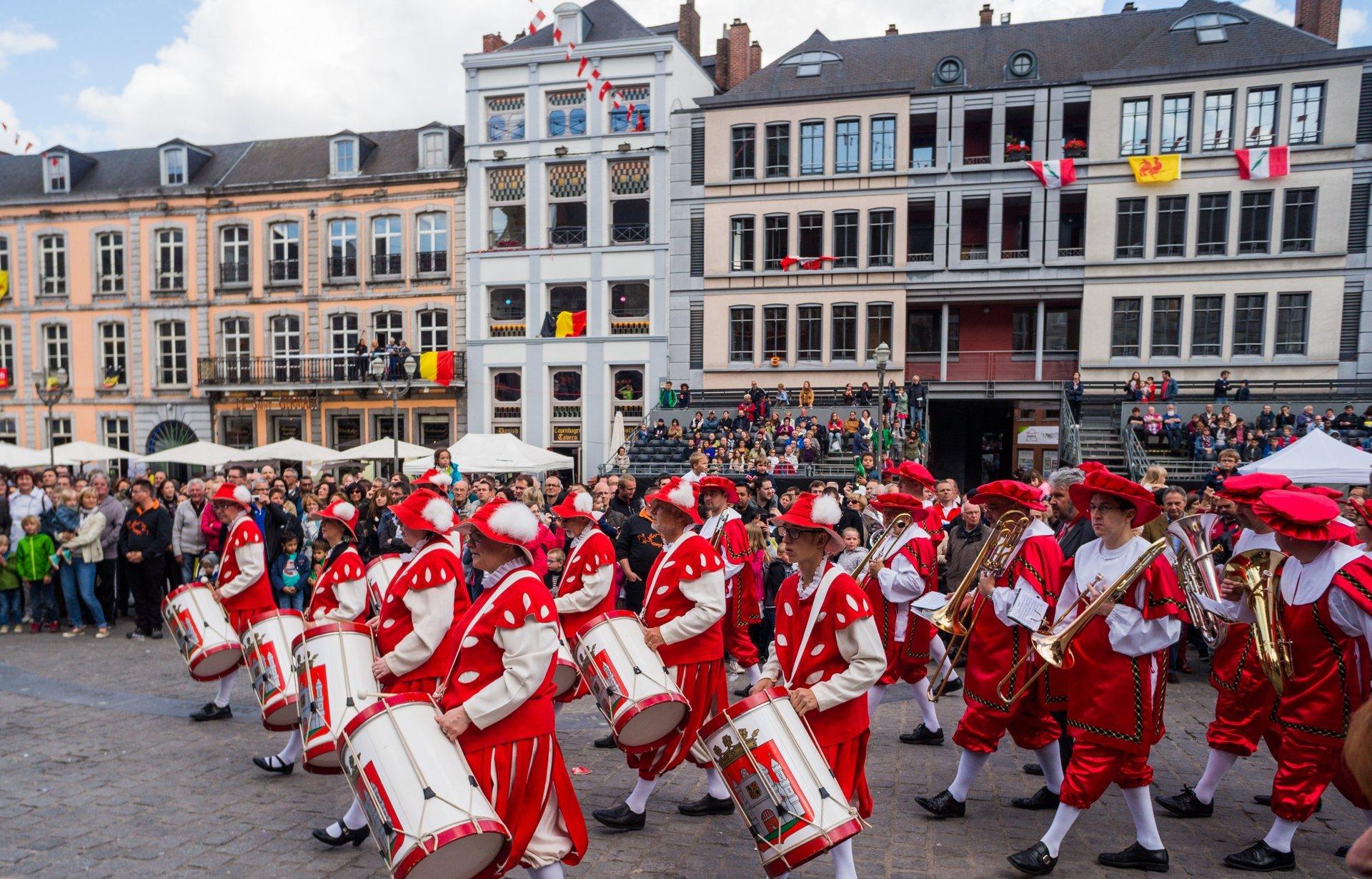 Ducasse de Mons (Doudou) in Belgium 2020 - Best Time