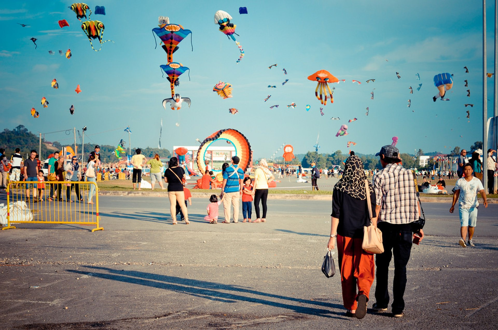 Borneo International Kite Festival in Borneo - Best Time